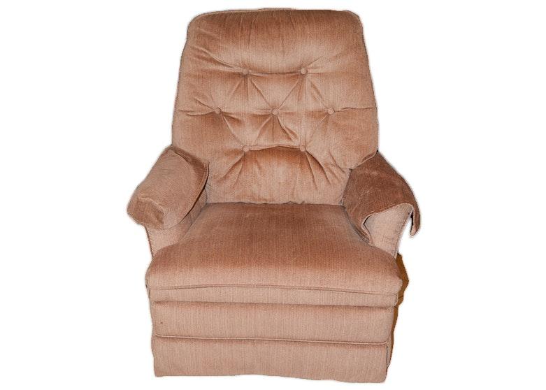 Vintage Upholstered Recliner by La-Z-Boy