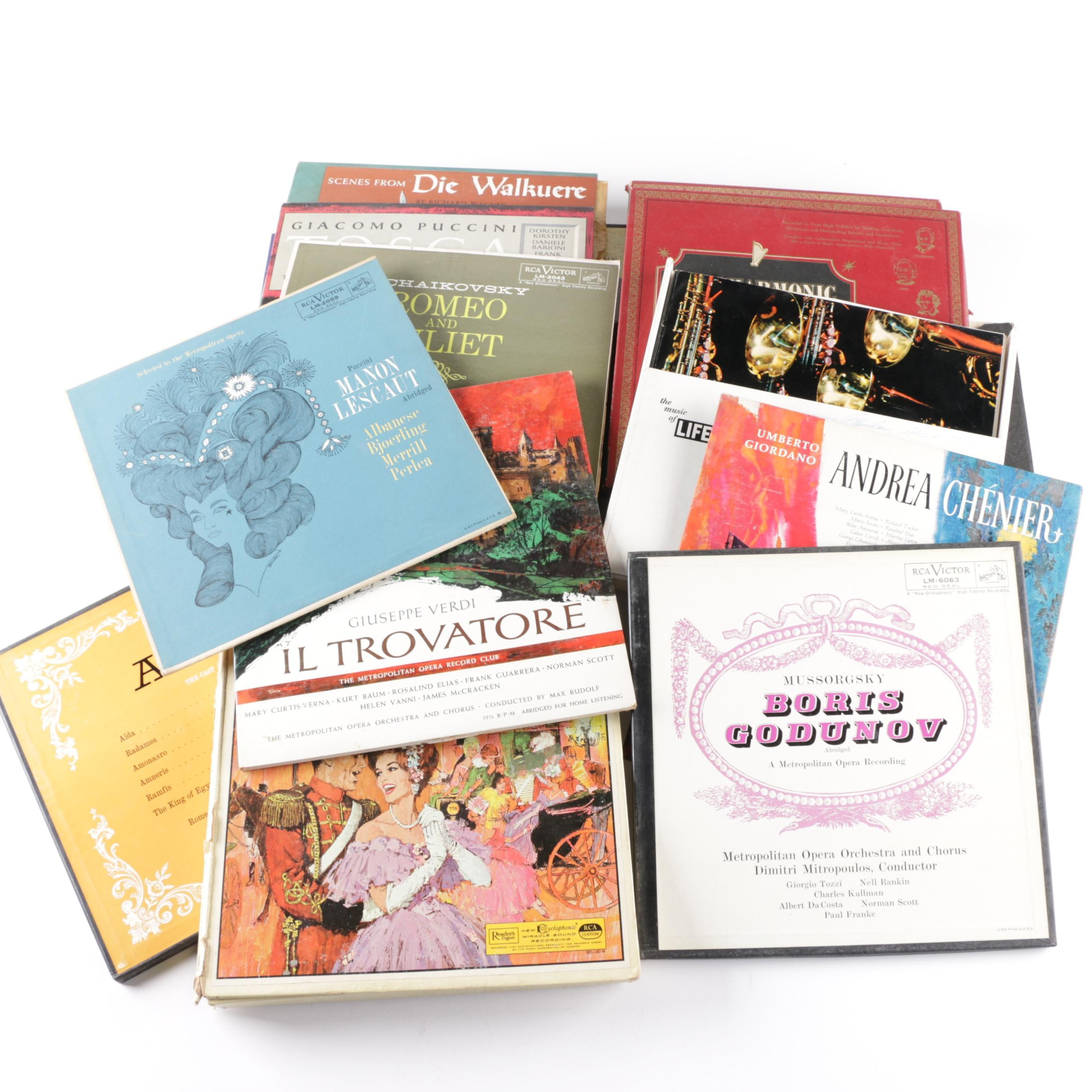 Operatic and Classical Theme LPs