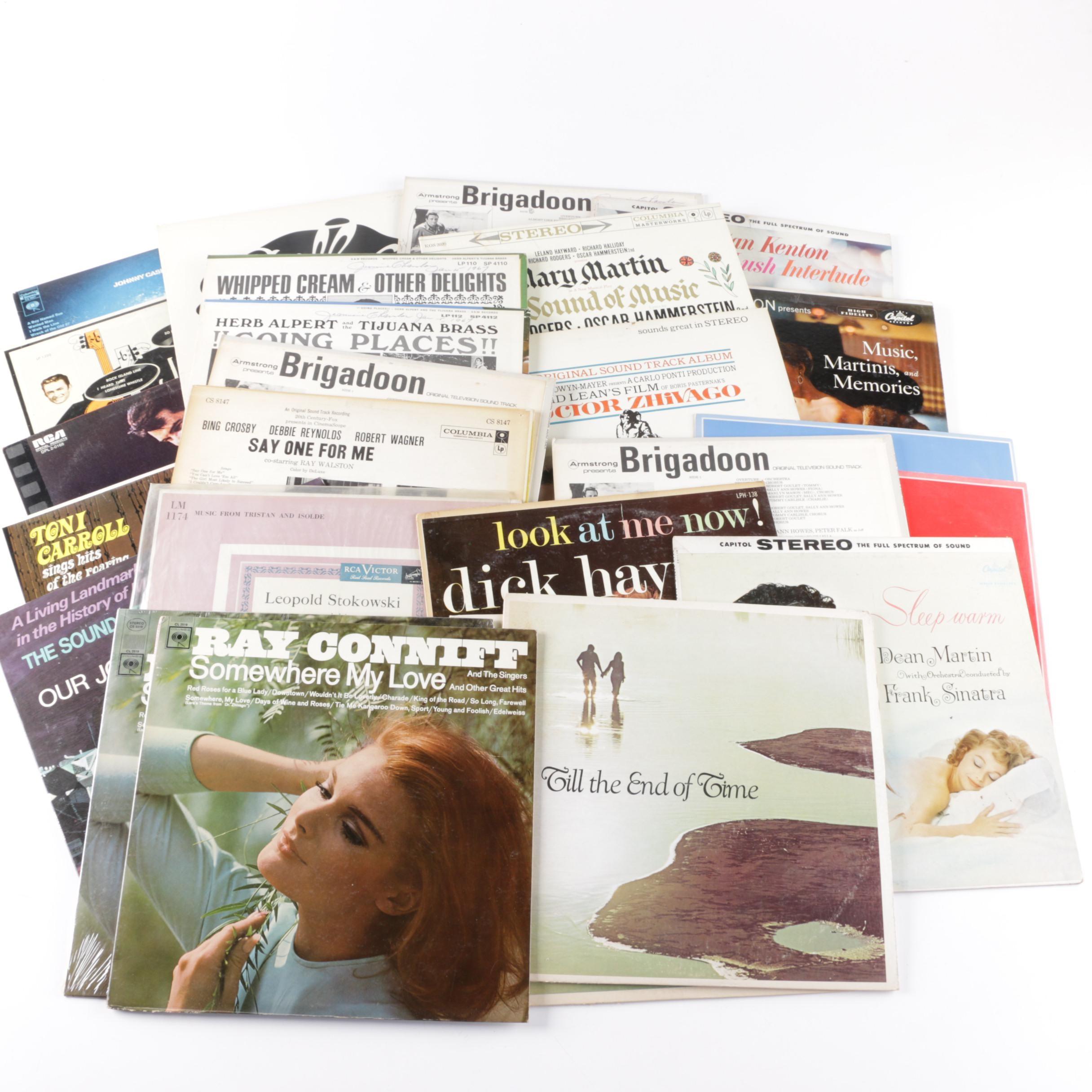 Elvis, Johnny Cash and Other Vintage LPs