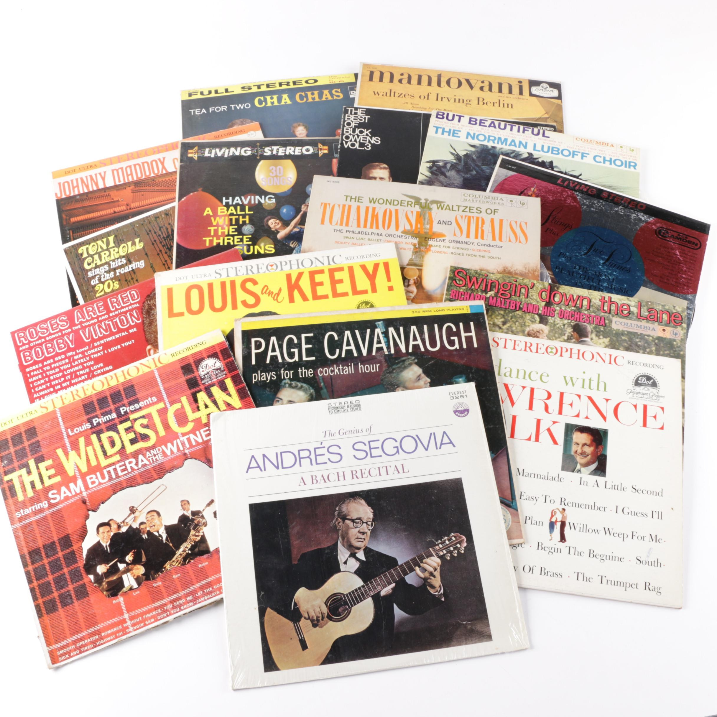 Andres Segovia and Other Easy Listening LPs