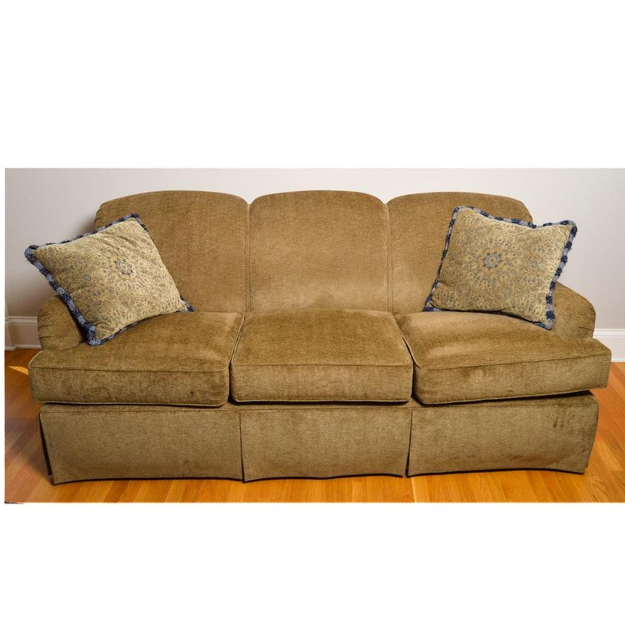 Chenille Sofa By Kravet Furniture Inc Ebth