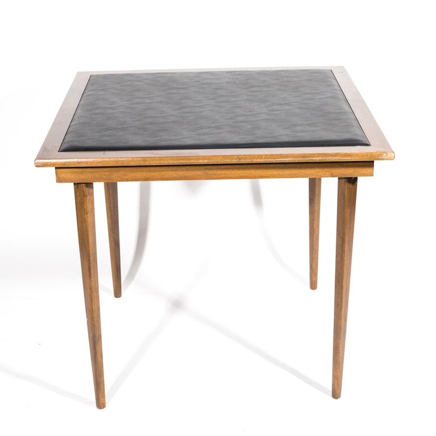 Mid Century Modern Style Card Table EBTH - Mid century modern card table