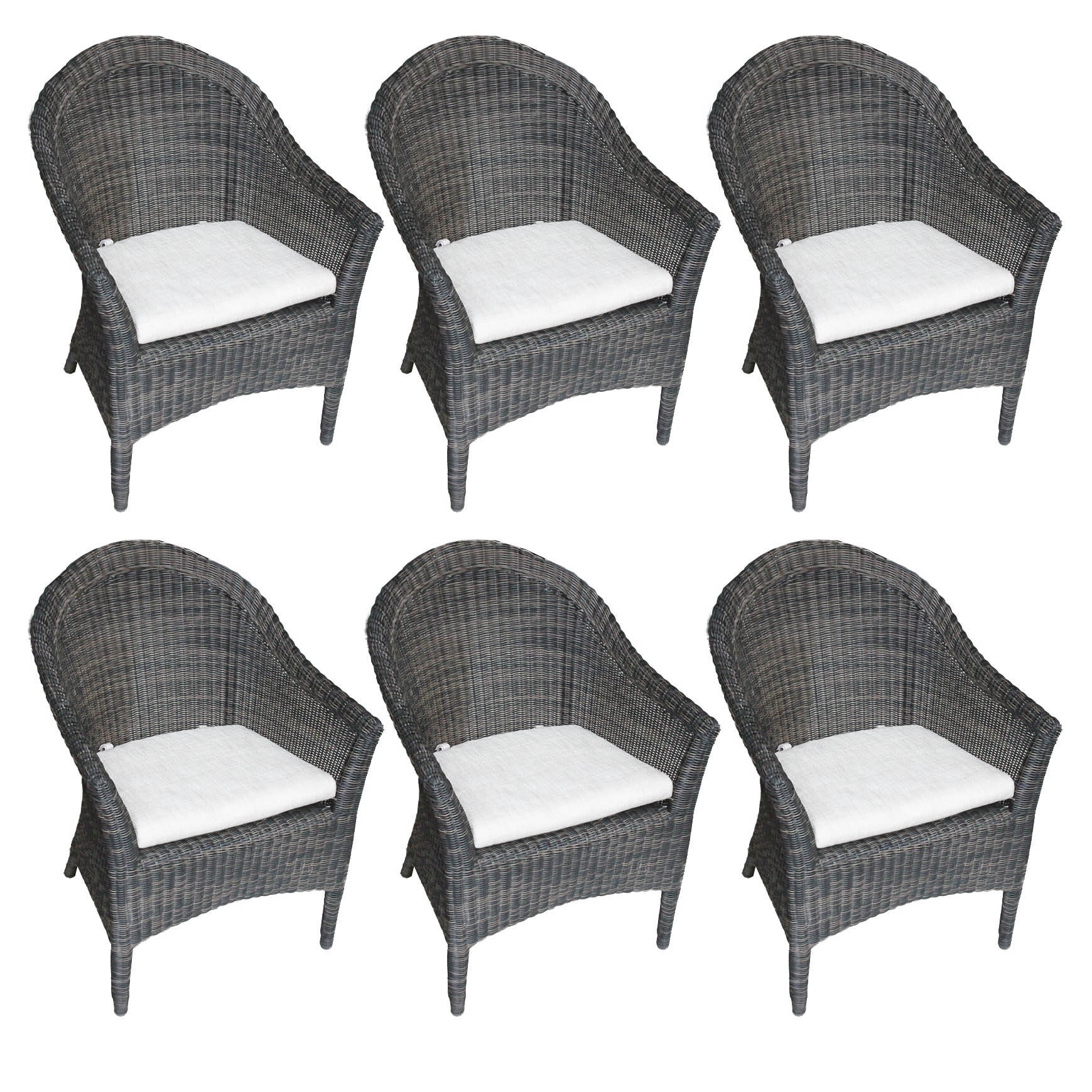 Set of Smith & Hawken Outdoor Patio Chairs