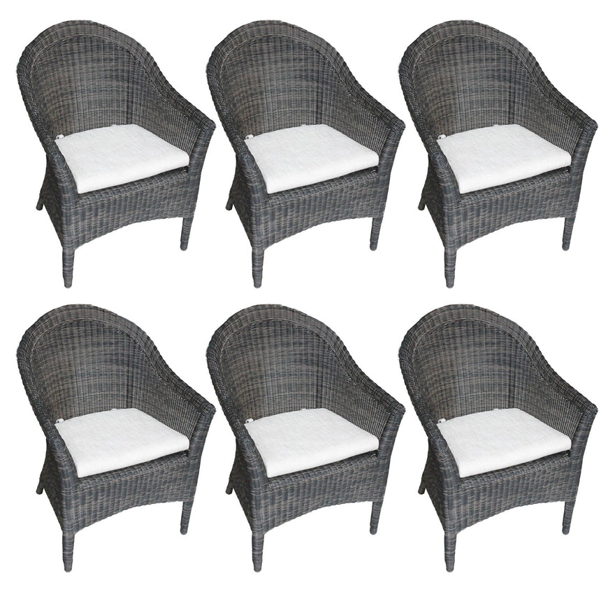 Set Of Smith Hawken Outdoor Patio Chairs