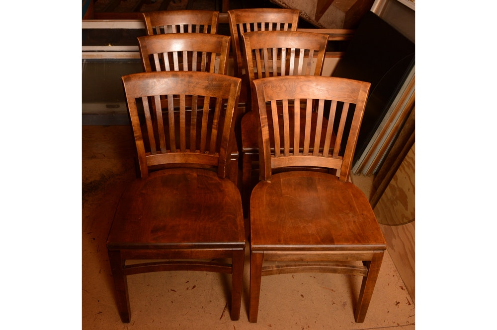 Vintage Side Chairs by W.H. Gunlocke Chair Company