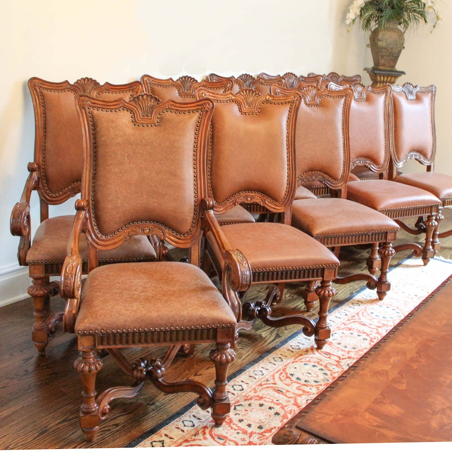 Louis Xiv Style Dining Chairs From The