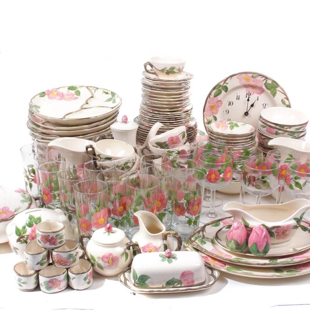 Enormous Franciscan \ Desert Rose\  Dinnerware Collection ...  sc 1 st  EBTH.com & Enormous Franciscan \