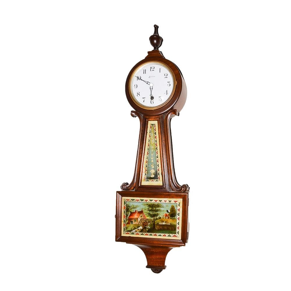 Vinatage Sessions Banjo Wall Clock