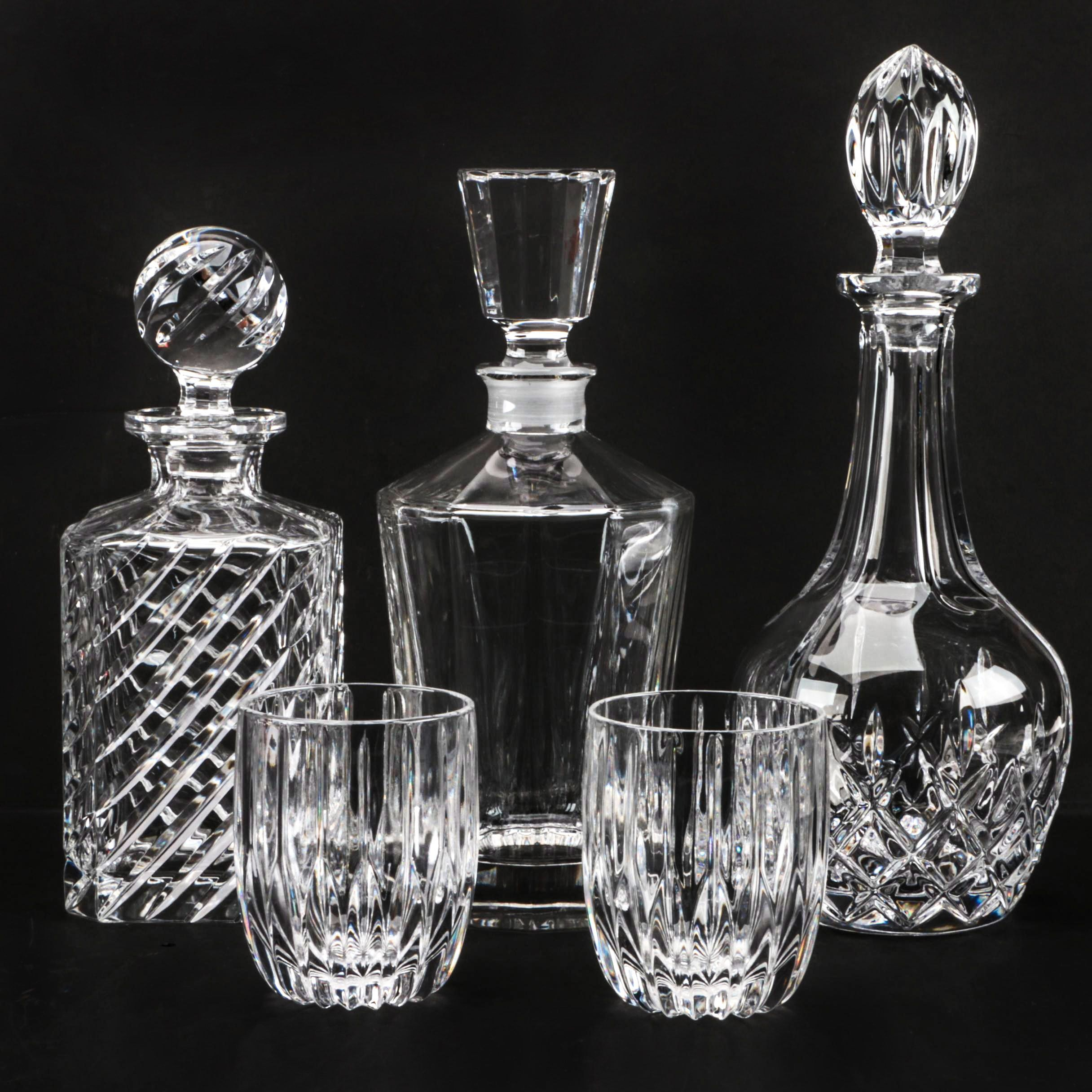 Crystal Barware Featuring Nachtmann