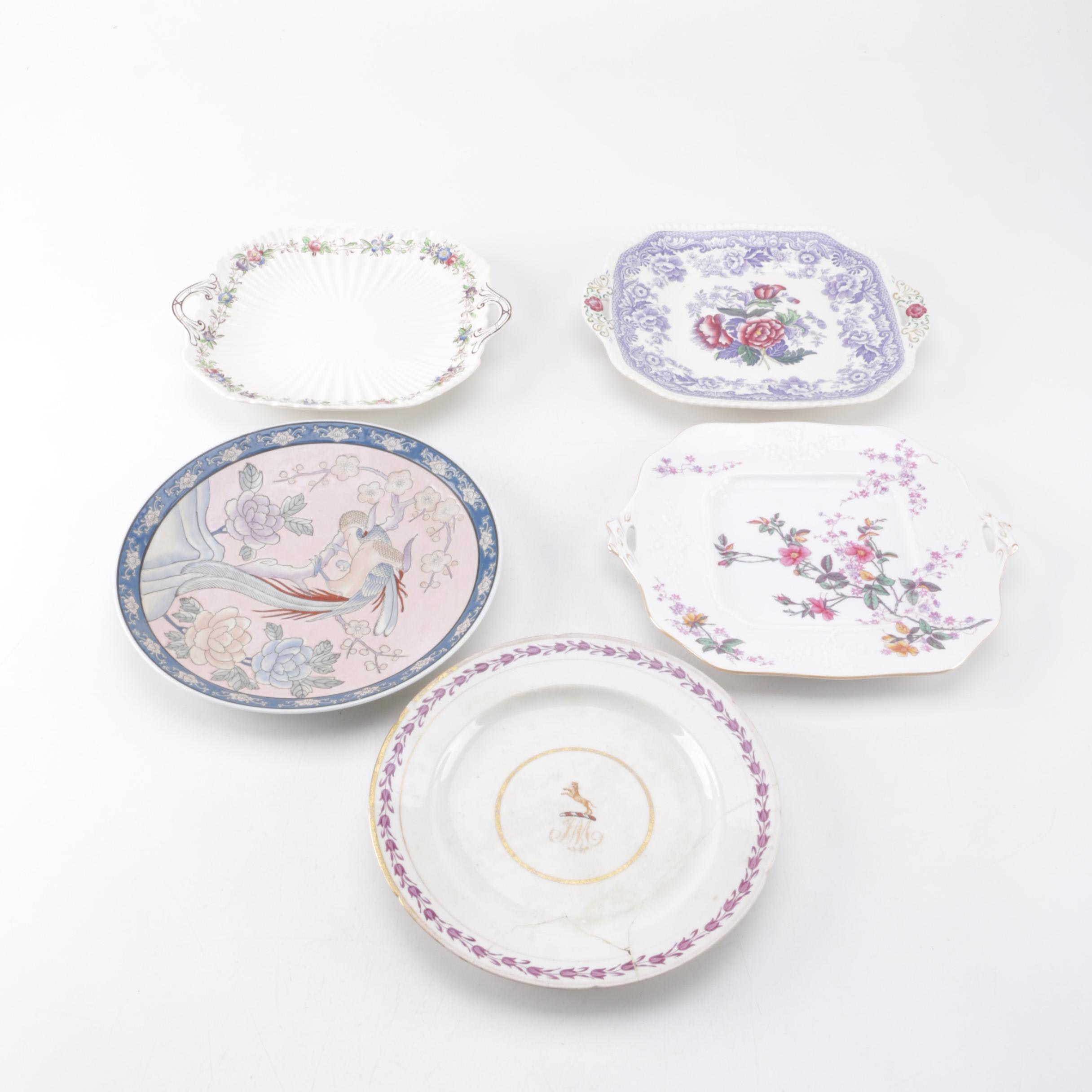 "Chinese Export With Spode ""Mayflower"", ""Roberta"" and ""Felicity"""