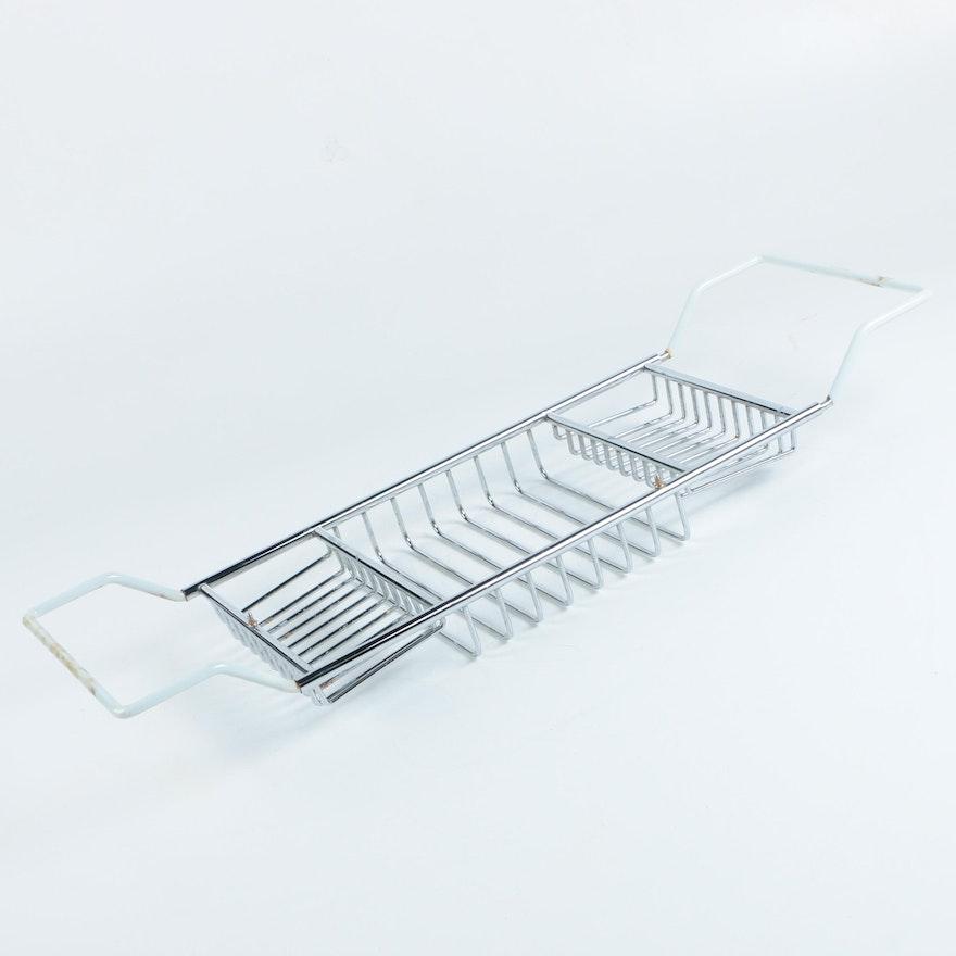 Adjustable Metal Bathtub Caddy : EBTH
