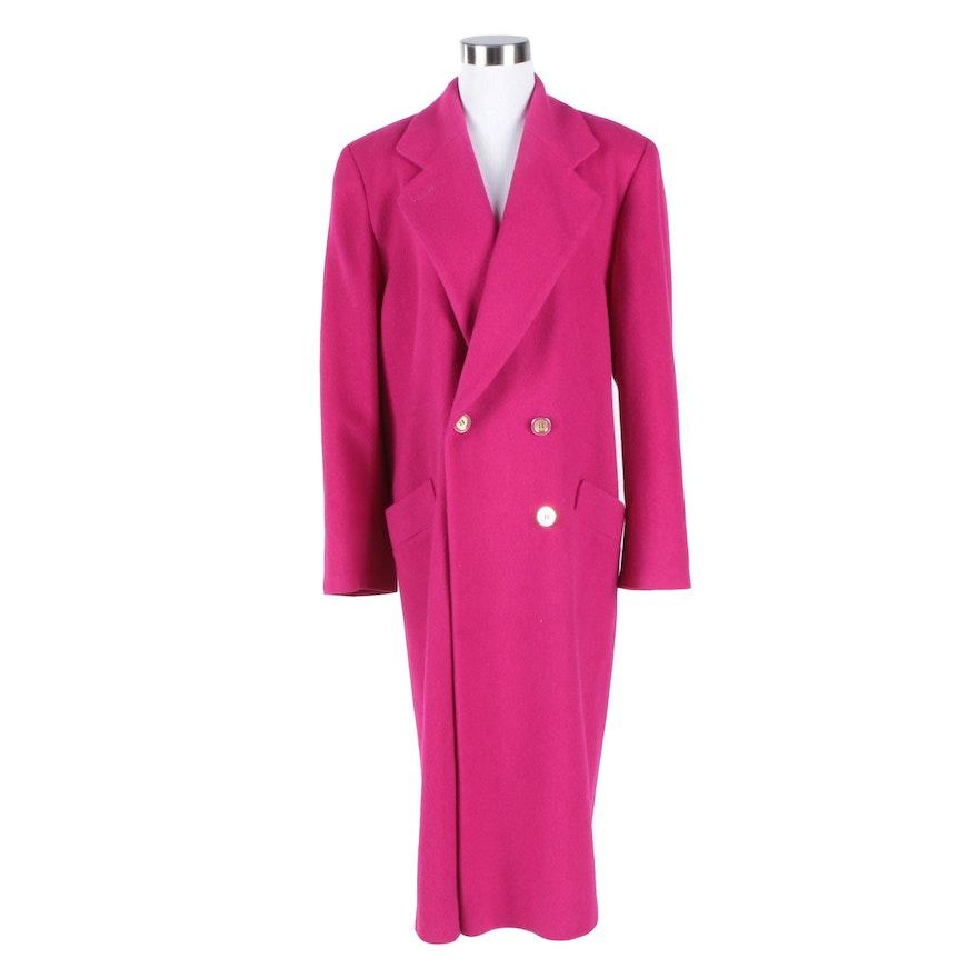 Neiman Marcus Fleurette Cashmere Overcoat : EBTH