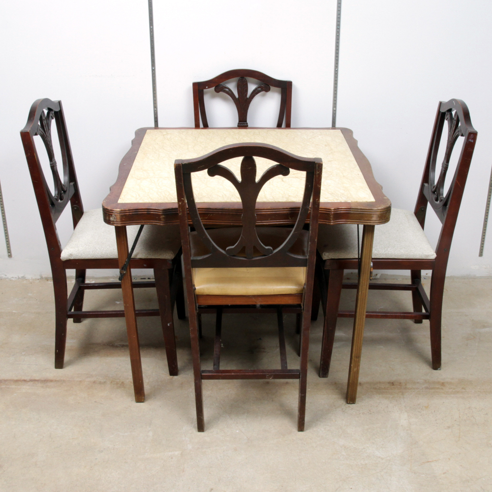 antique dining room furniture 1920. Mid Century Federal Style Folding Table And Chairs Pictures Of Antique  Dining Room Tables L