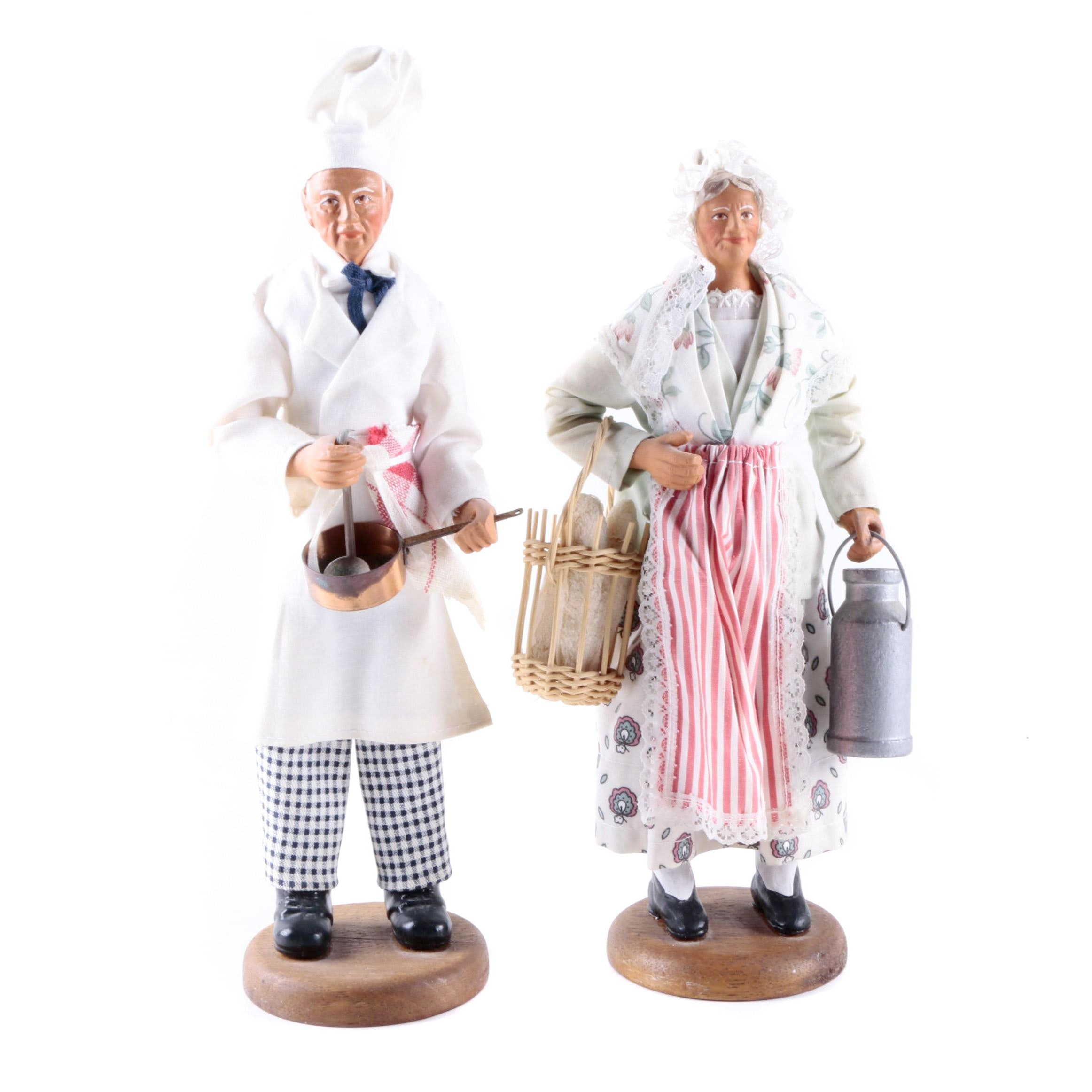 Elder Farmer Figurines