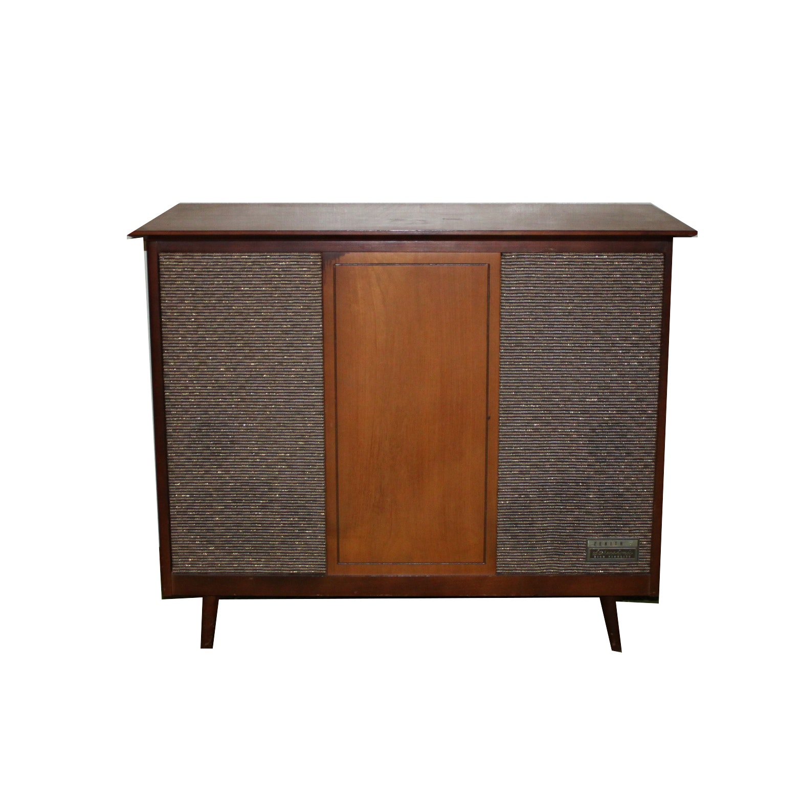 Mid-Century Zenith Record Player Cabinet