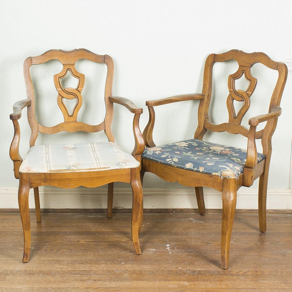 Pair Of Vintage Armchairs By J.B. VanSciver Co.