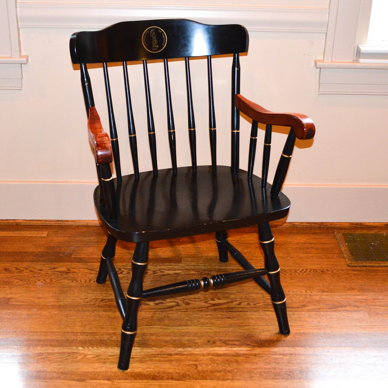 University of Virginia Hitchcock Style Chair
