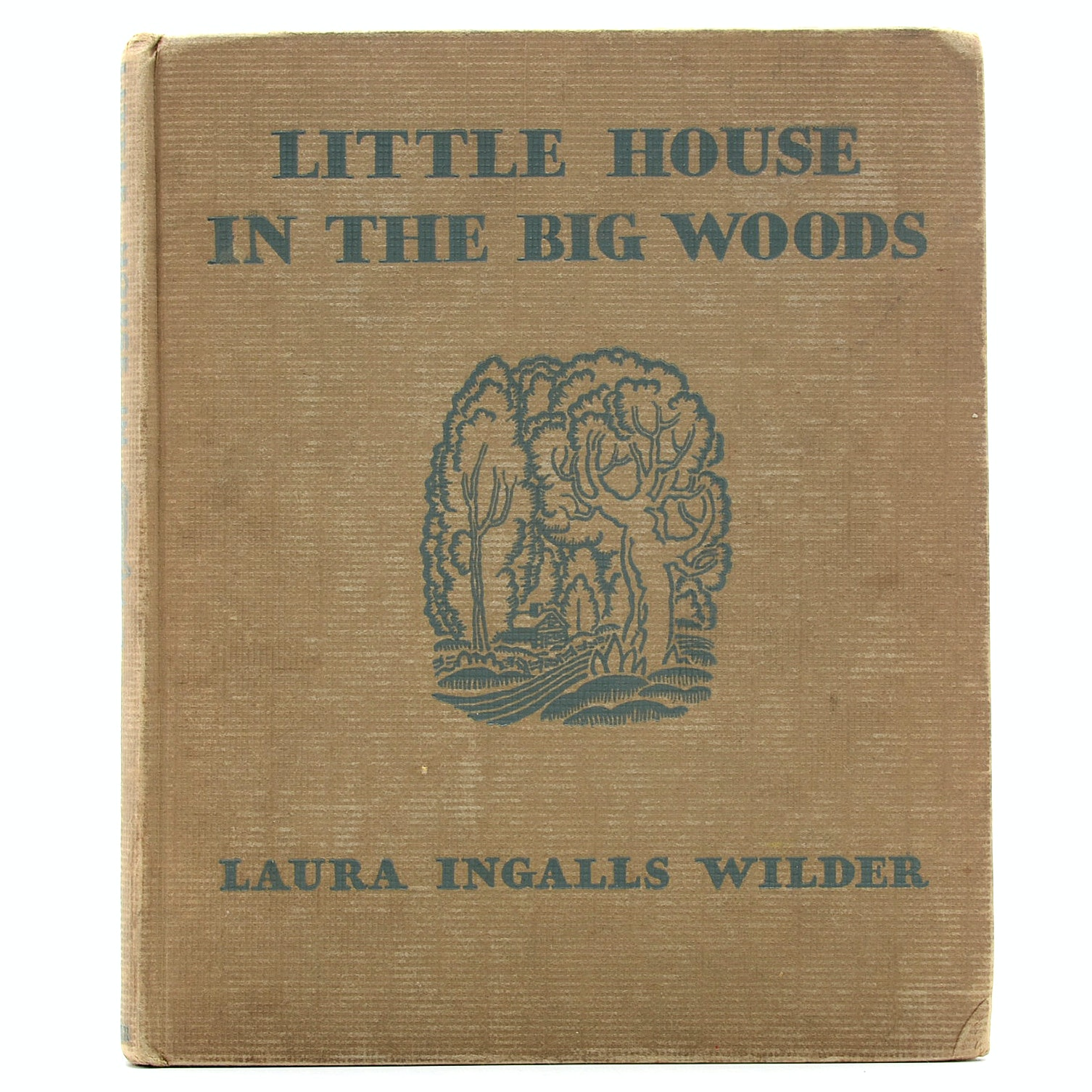 "1932 Edition of ""Little House in the Big Woods"" by Laura Ingalls Wilder"