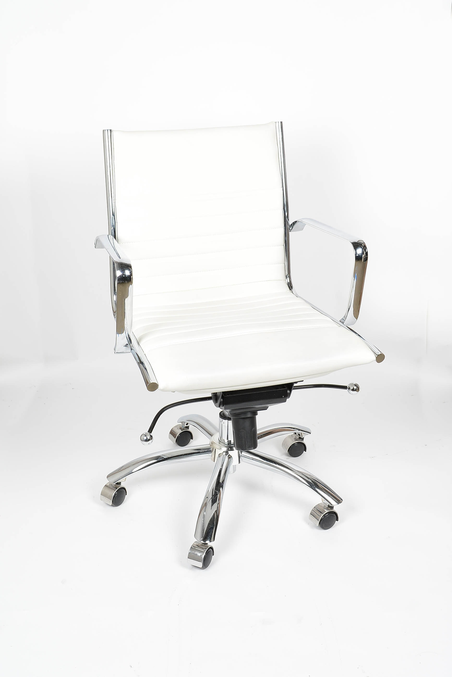 Modern Metal Rolling Office Chair