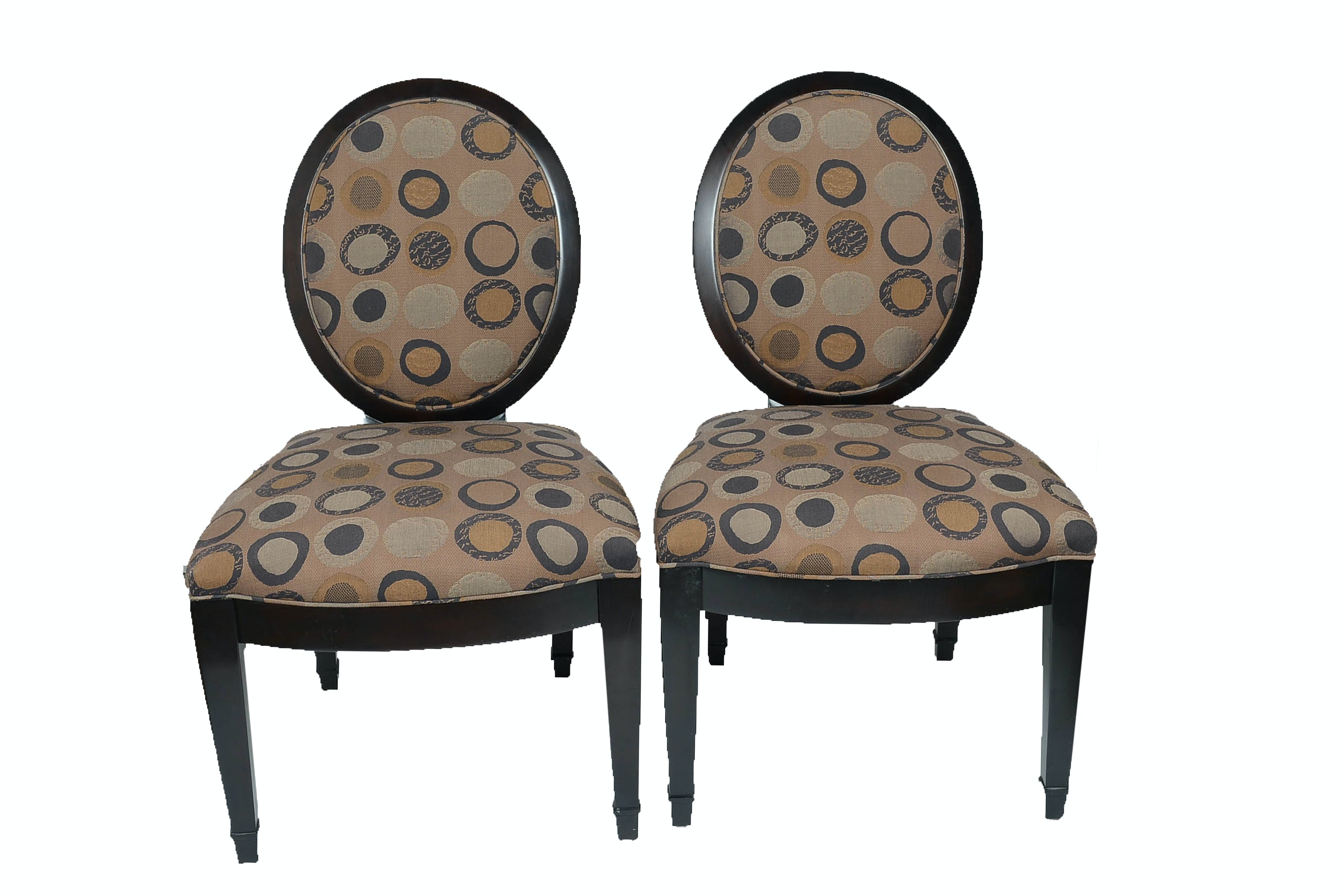 Pair Of John Hutton For Donghia Contemporary Accent Chairs ...