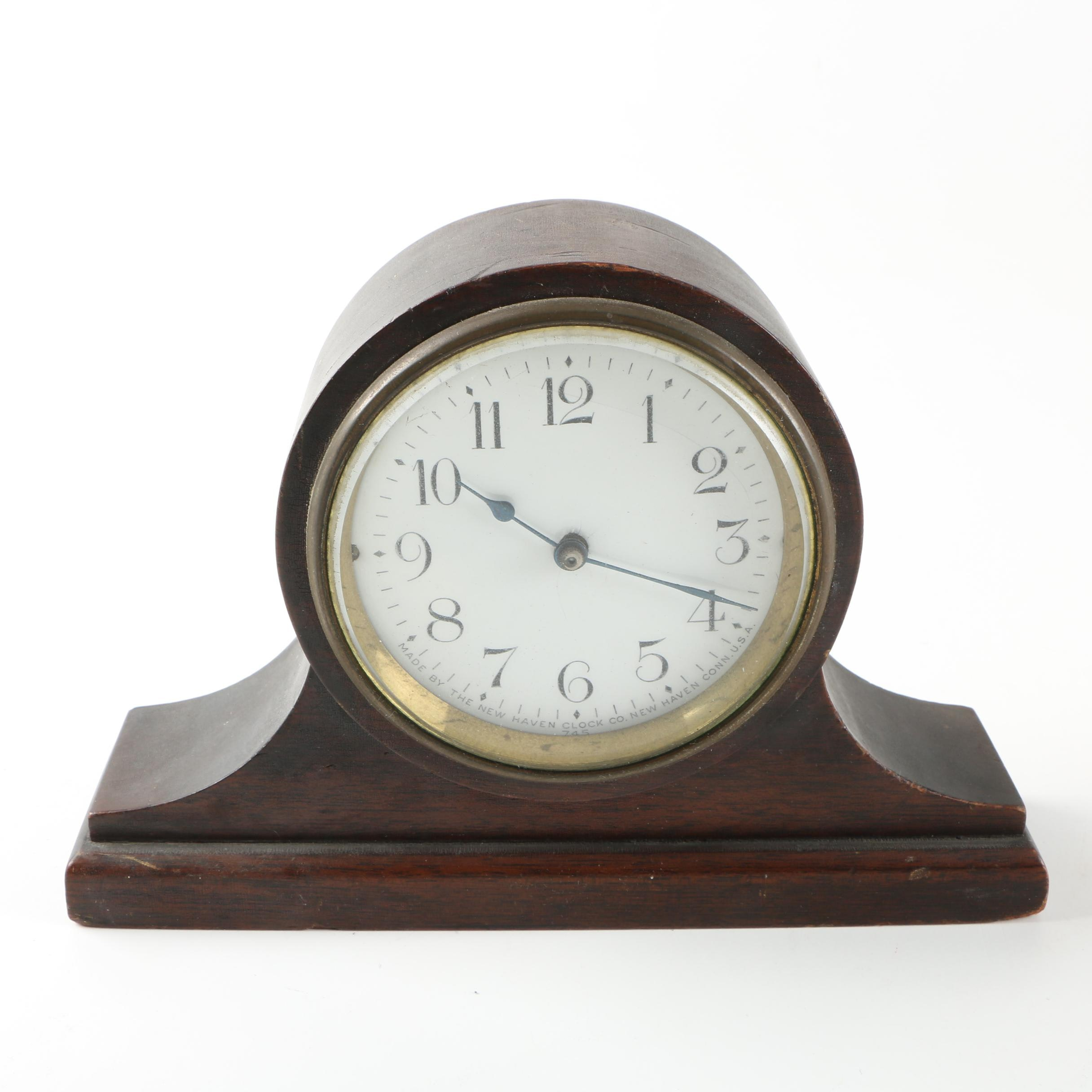 New Haven Clock Co. Mantel Clock