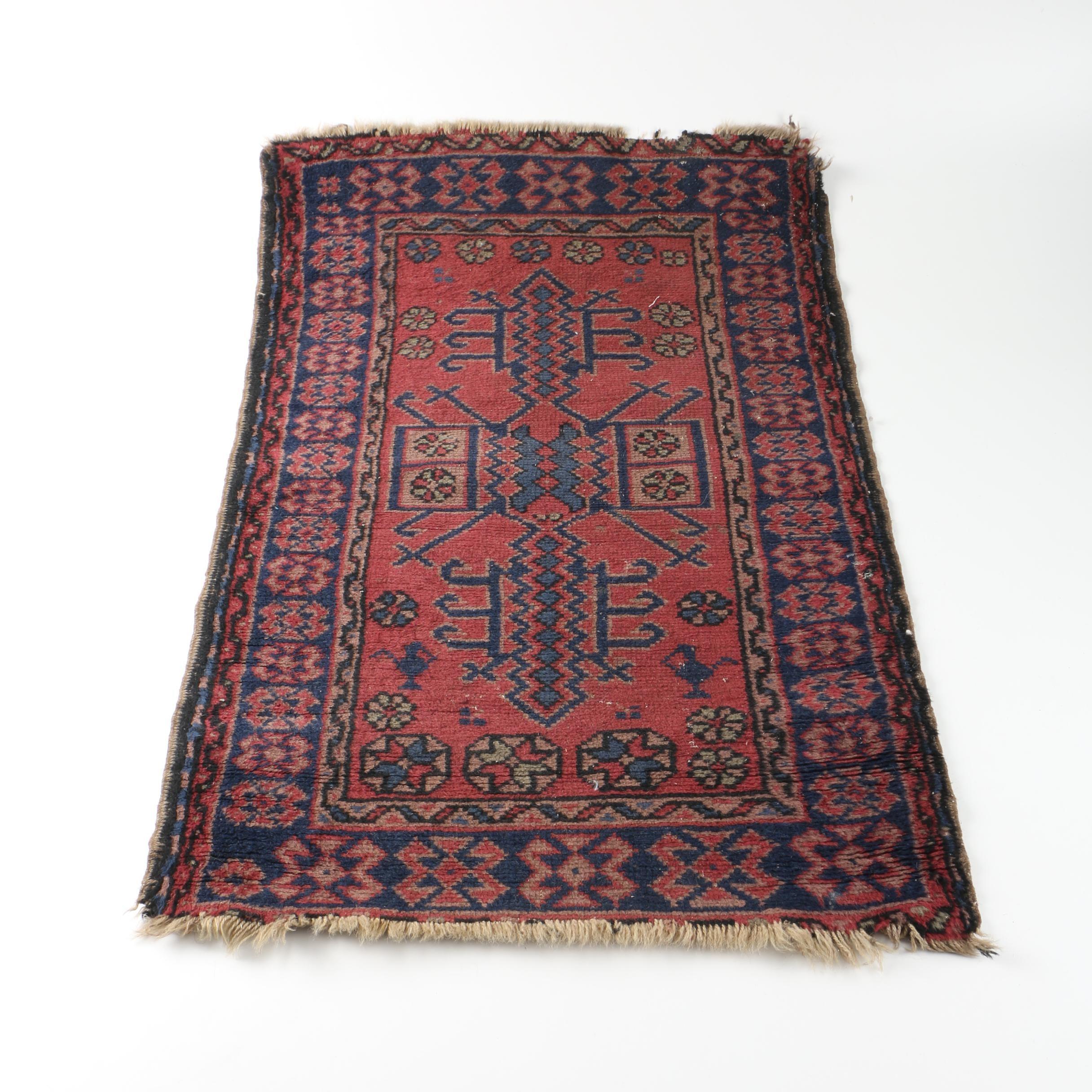 Handwoven Turkish Wool Accent Rug