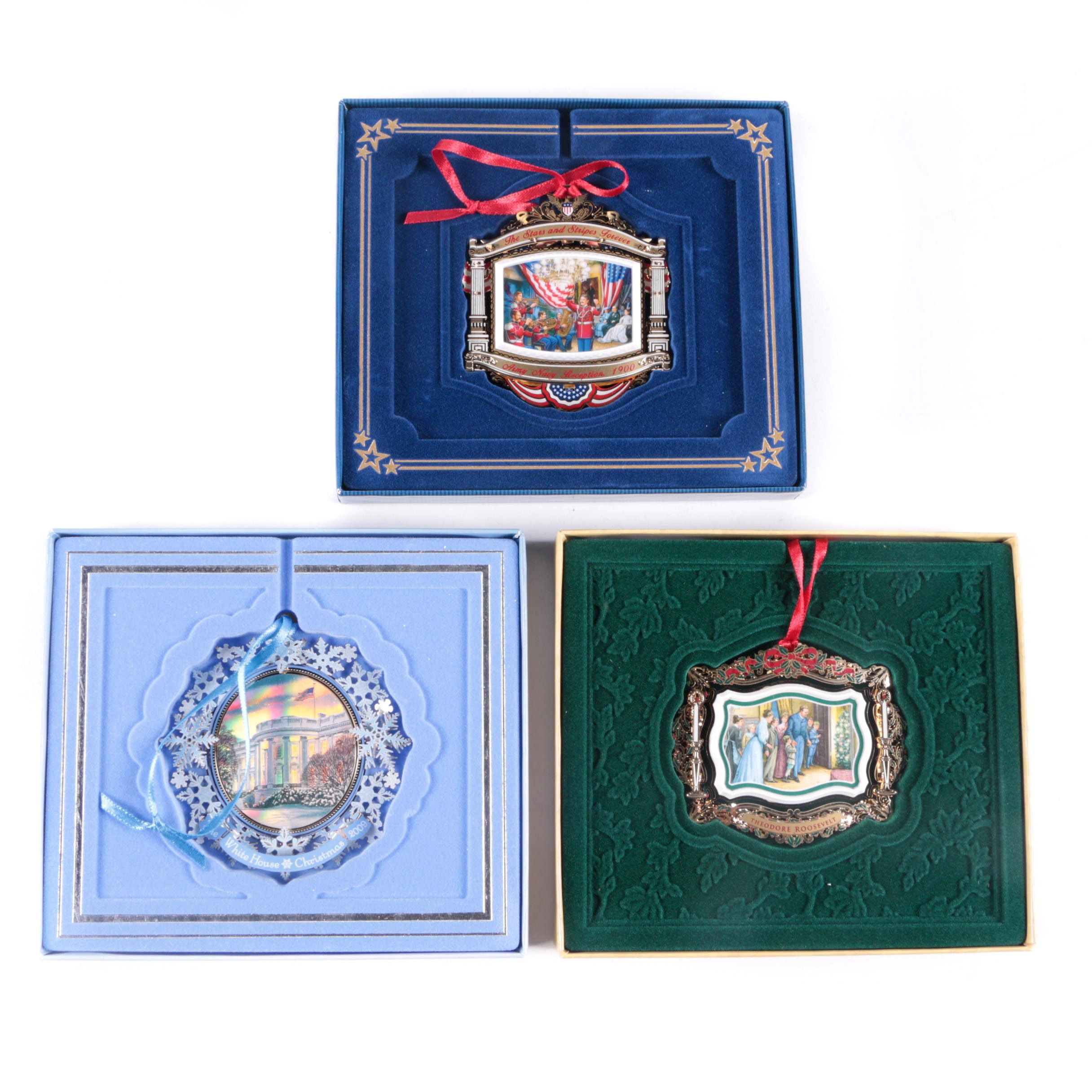 White House Christmas Ornaments From 2009, 2010, And 2011 ...