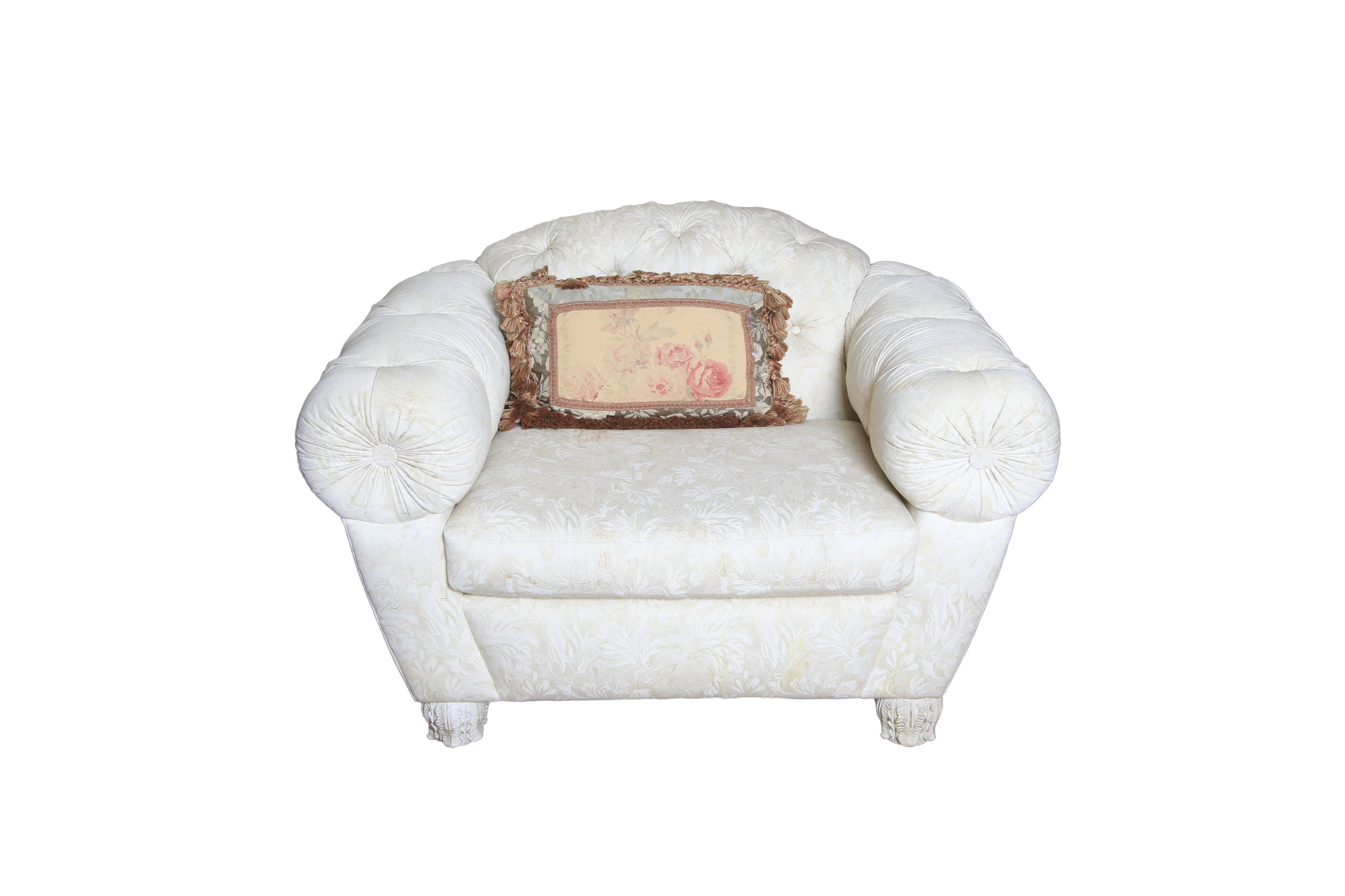 Over Sized Upholstered Lounge Chair