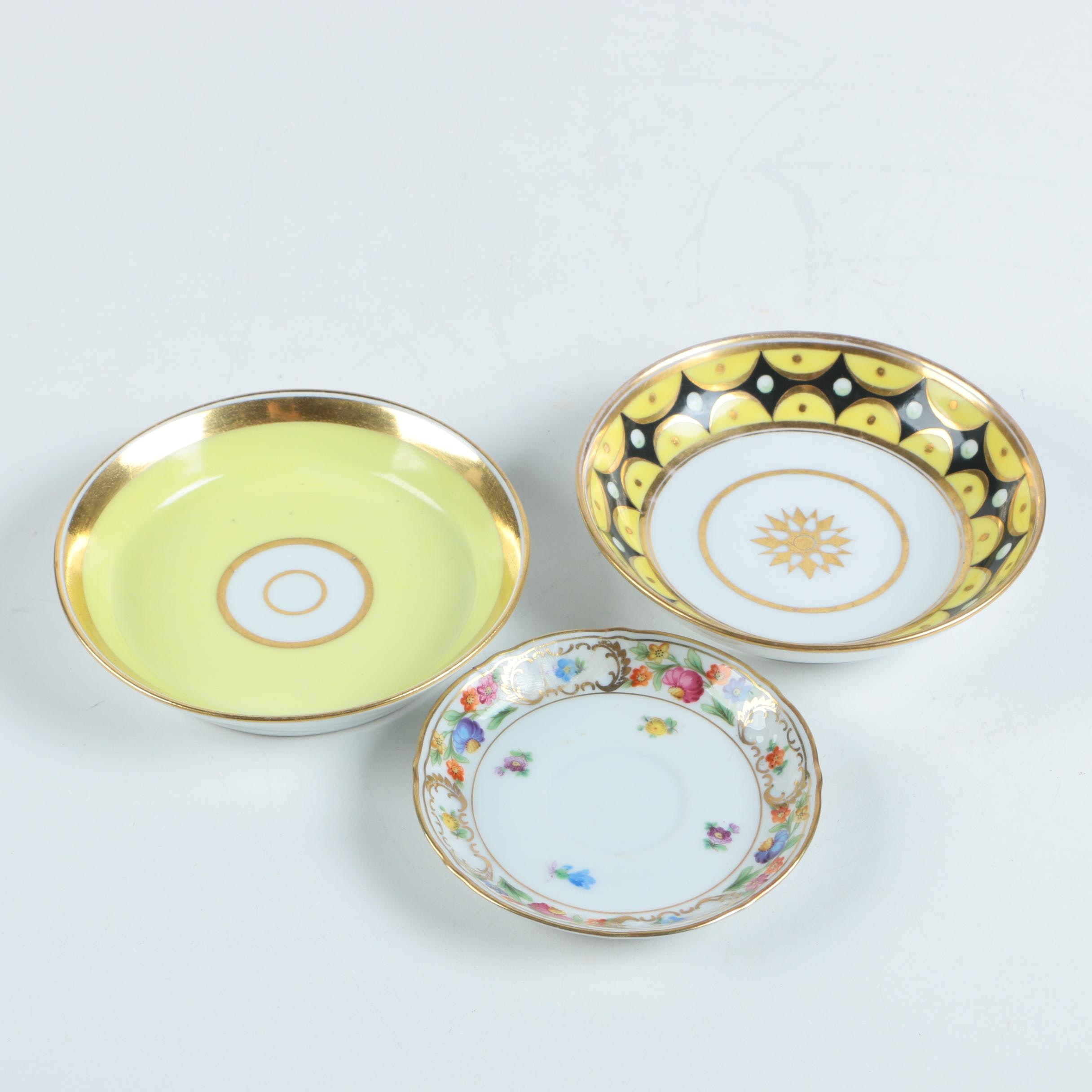 Porcelain Plates Including Schumann Bavaria 1945-49