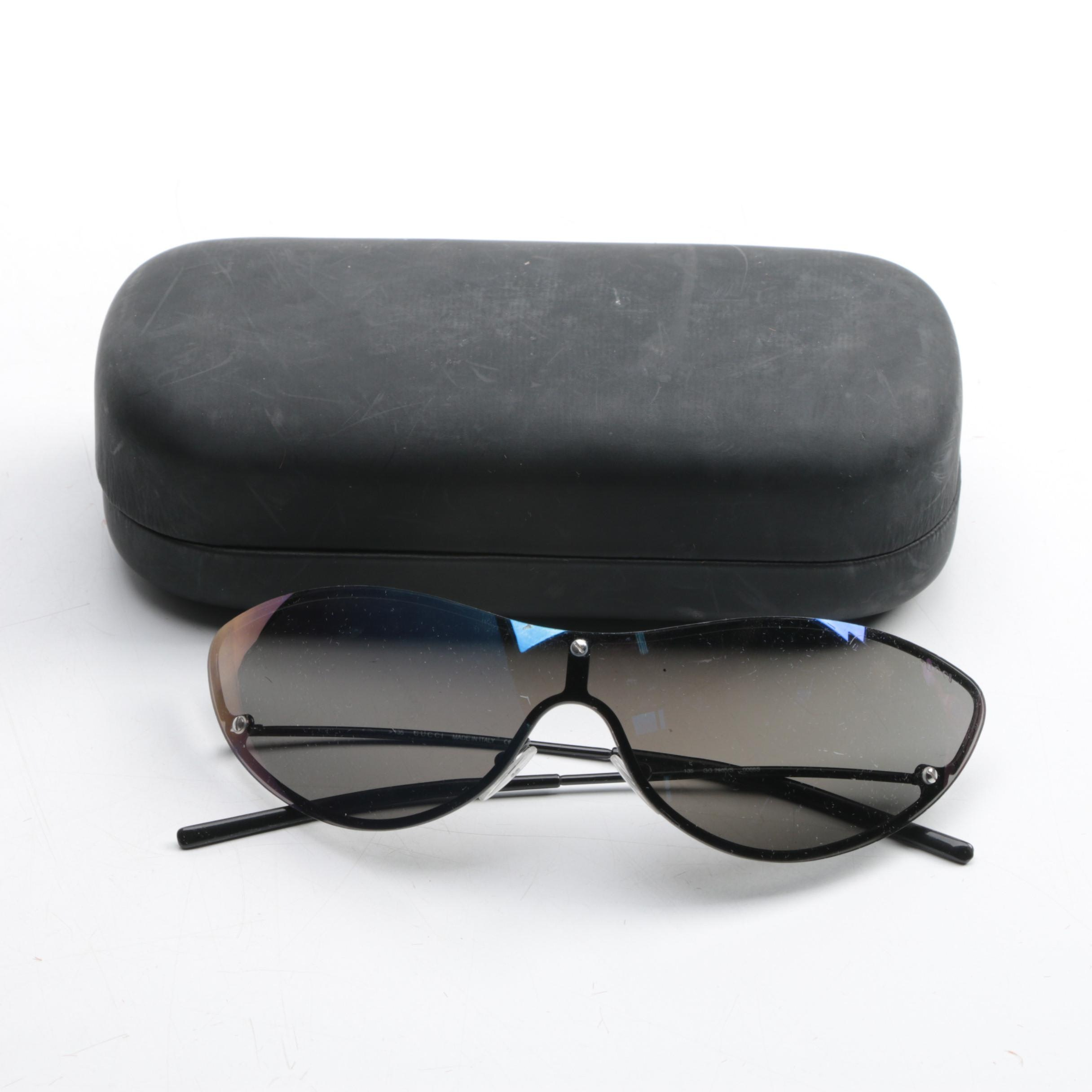 Gucci Cat Eye Sunglasses with Case