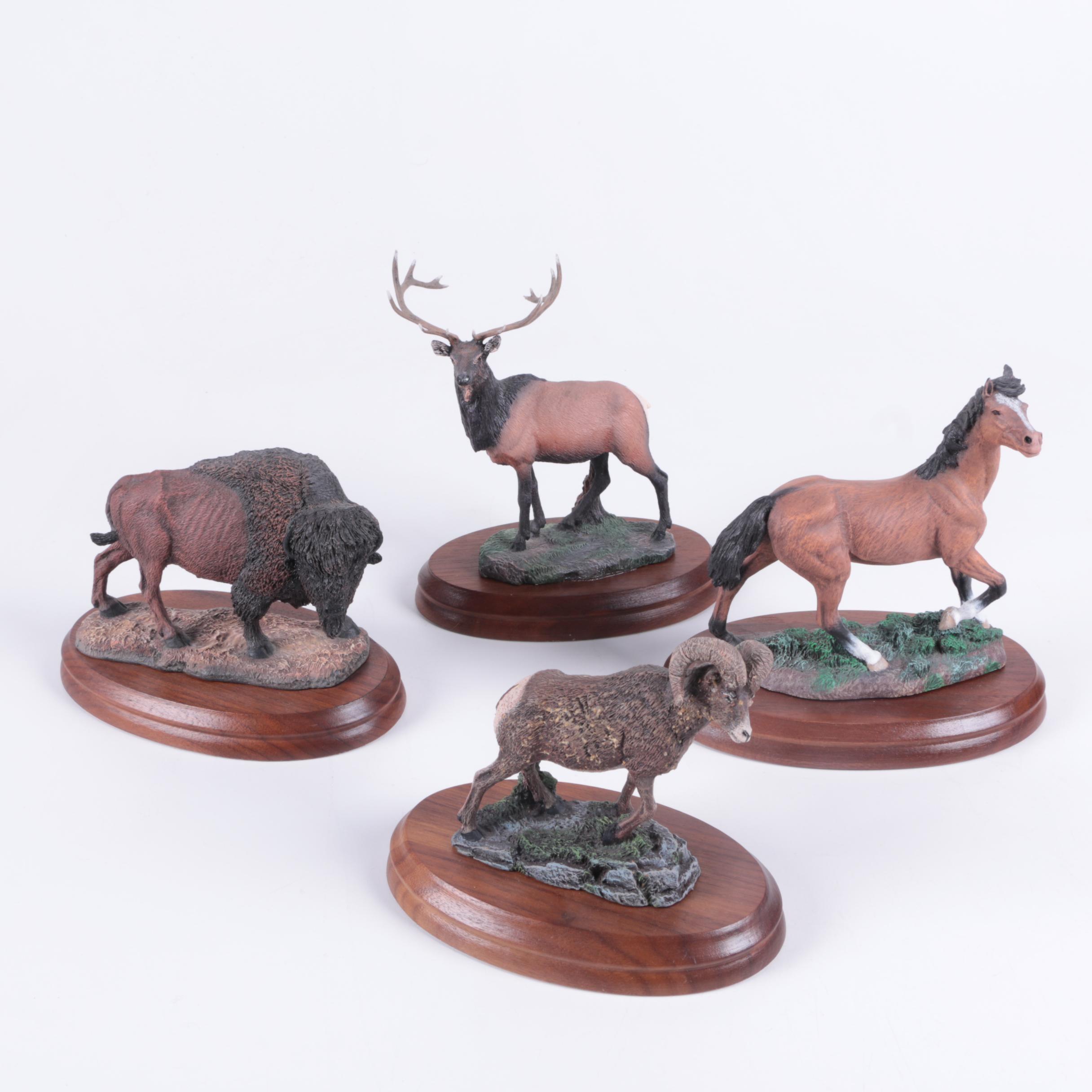 Vintage Hamilton Collection Animal Figurines