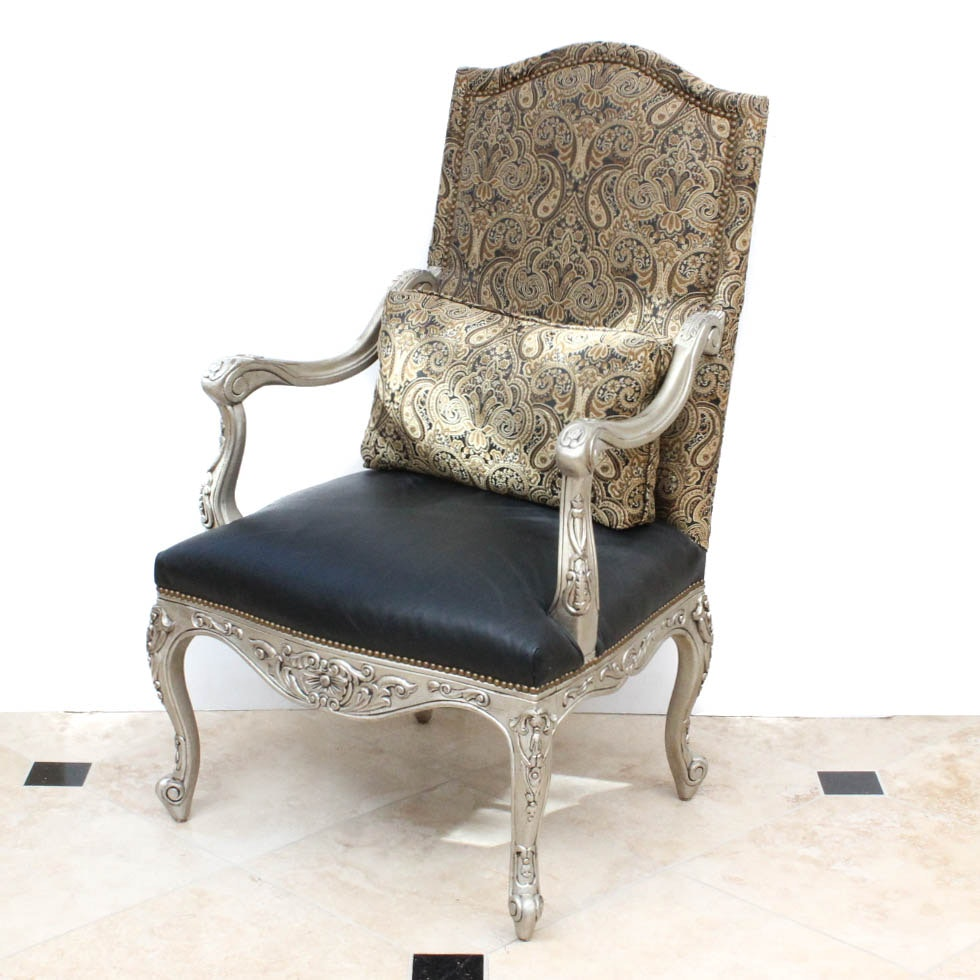 French Style Side Chair by Bassett Furniture