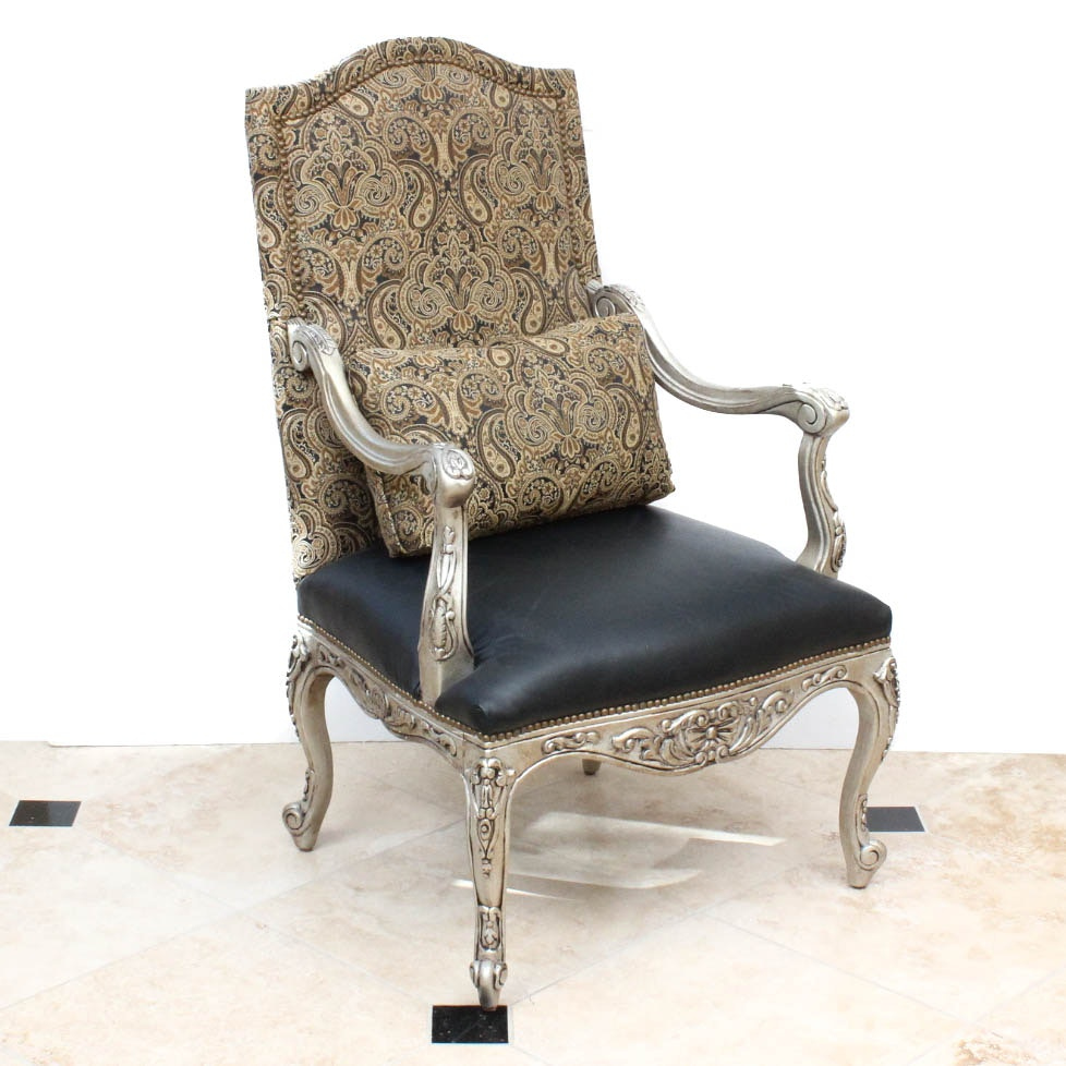 Louis XV Style Side Chair by Bassett Furniture