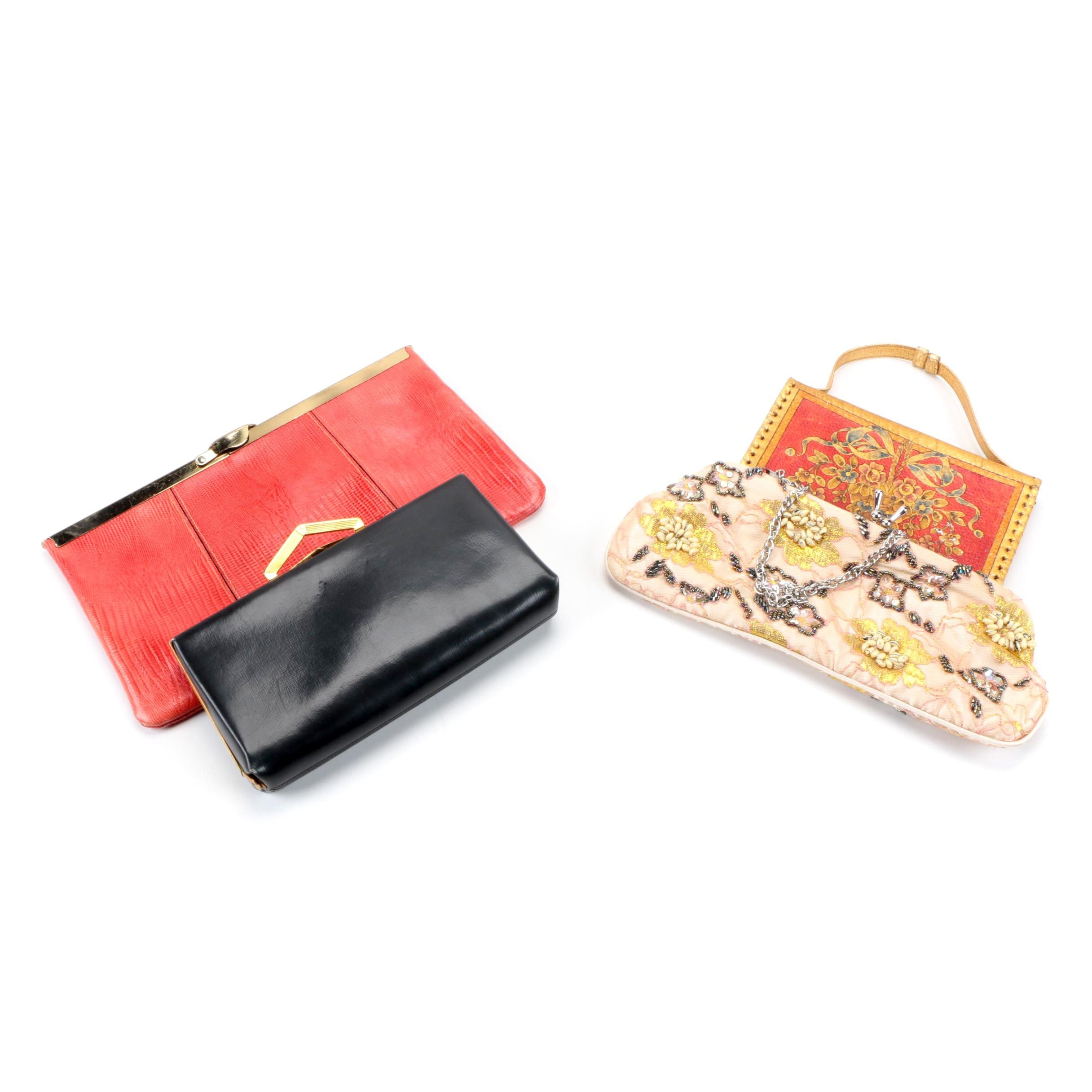 Clutches and Handbags Including Etra