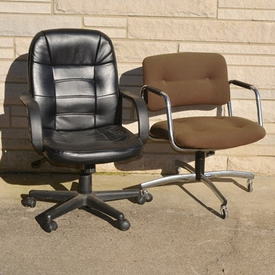 Vintage Office Desk Chairs, Including Steelcase ...