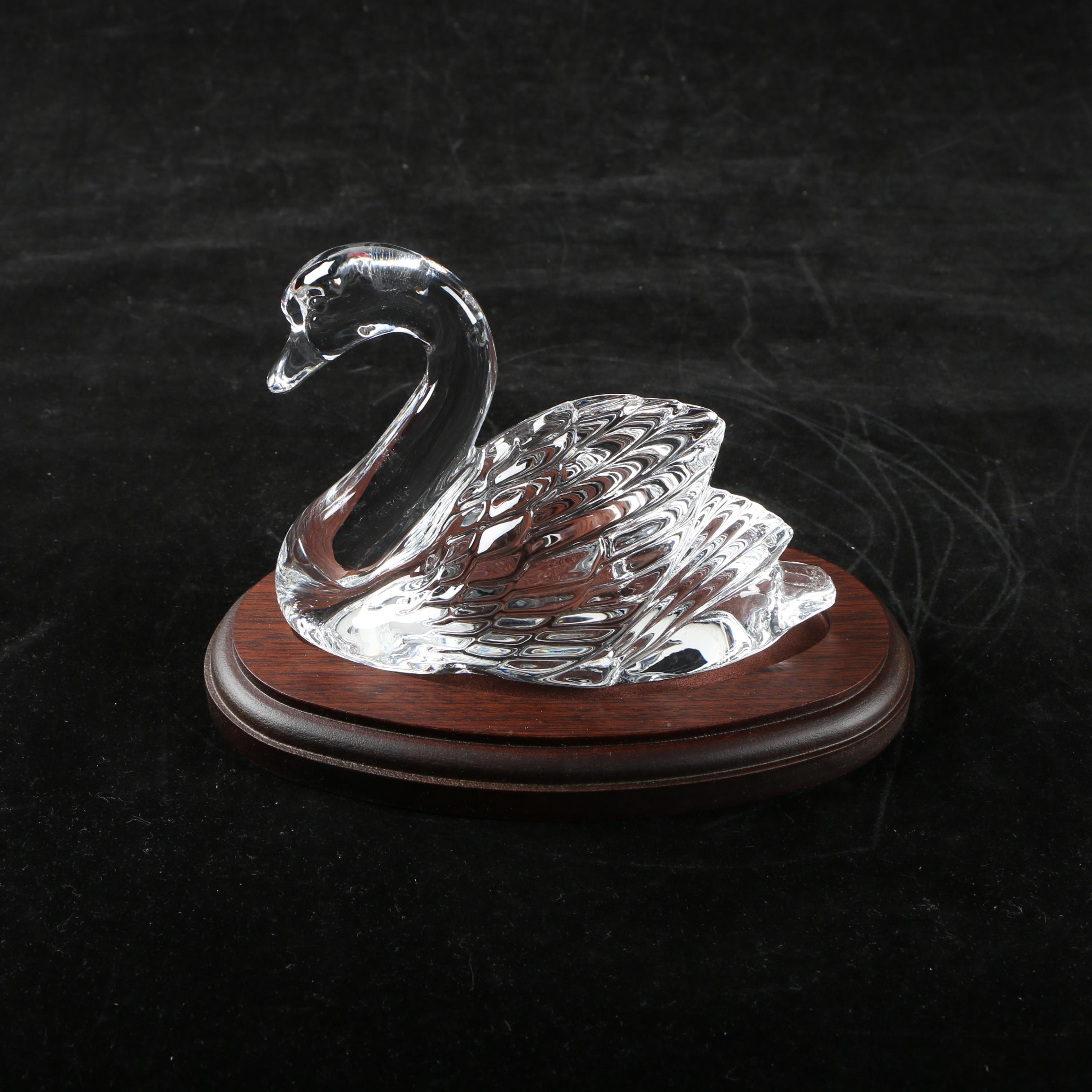 Waterford Crystal Swan