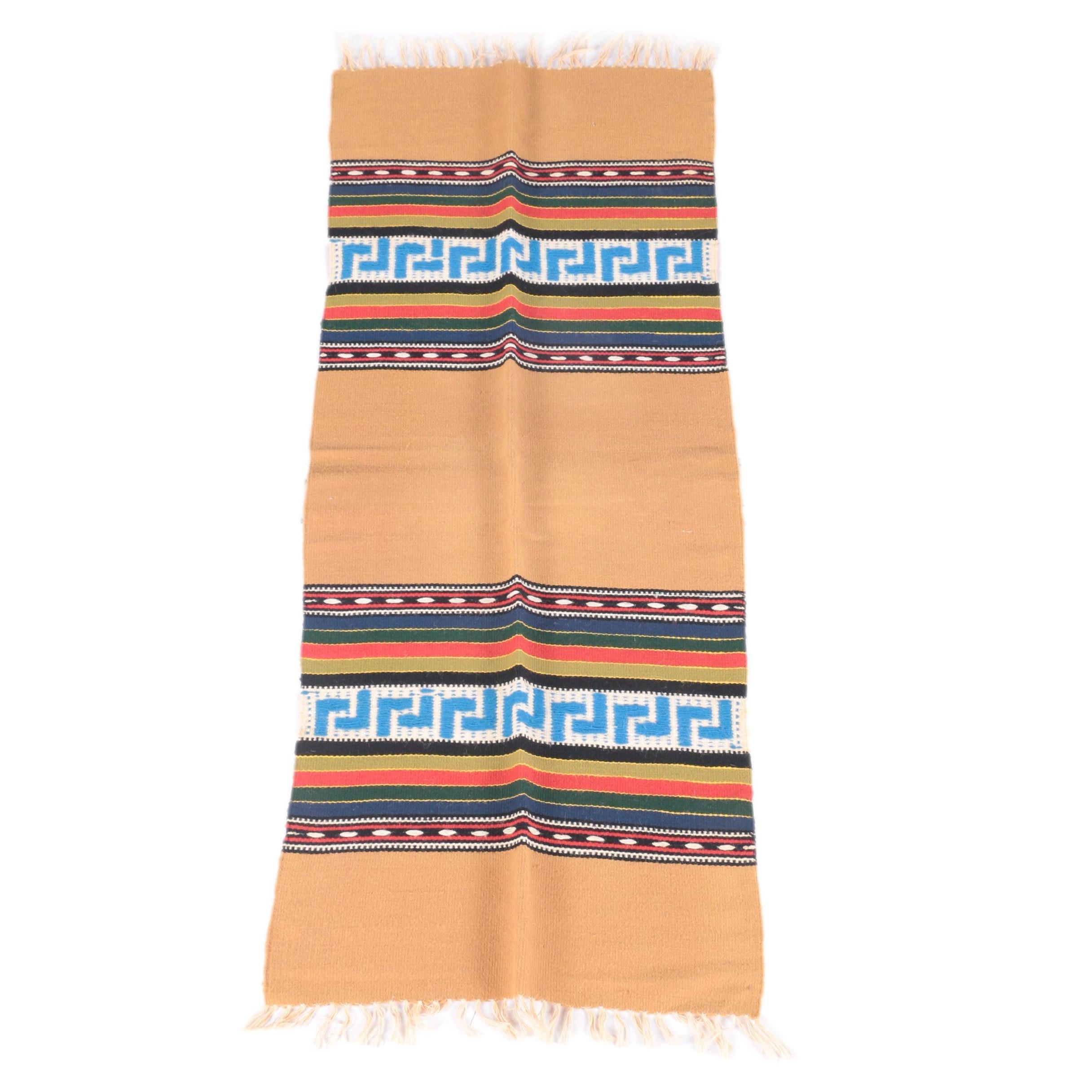 Handwoven Southwest Style Wool Carpet Runner