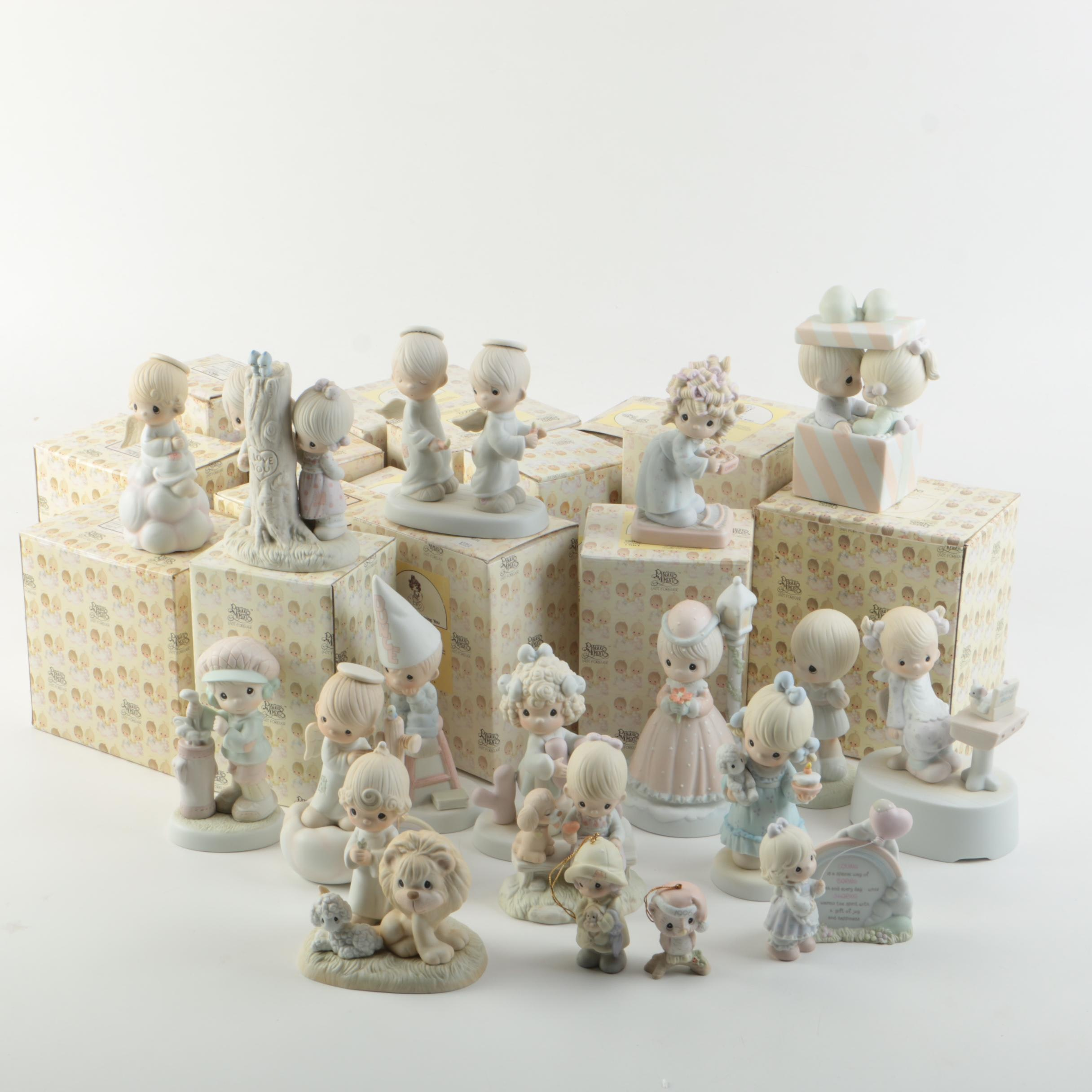 Precious Moments Porcelain Music Figurines
