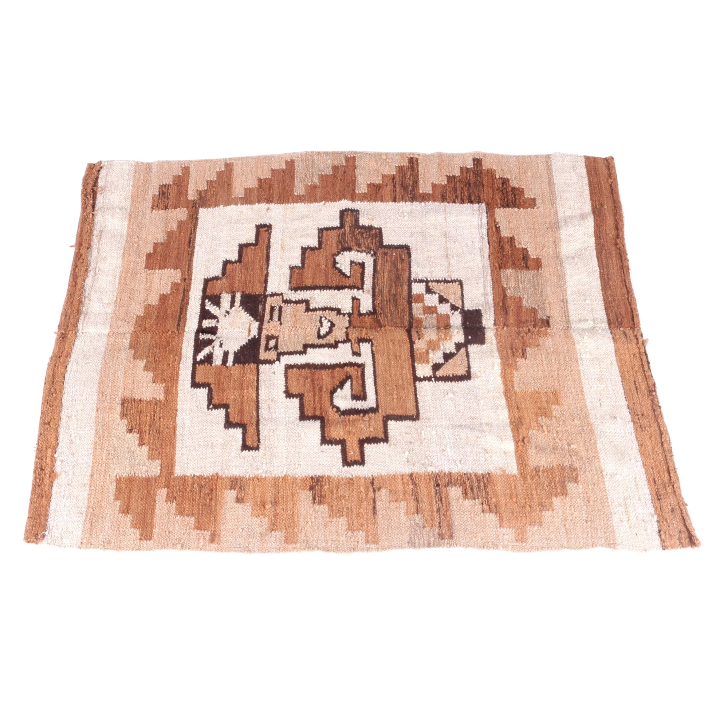 Handwoven Peruvian Wool Accent Rug