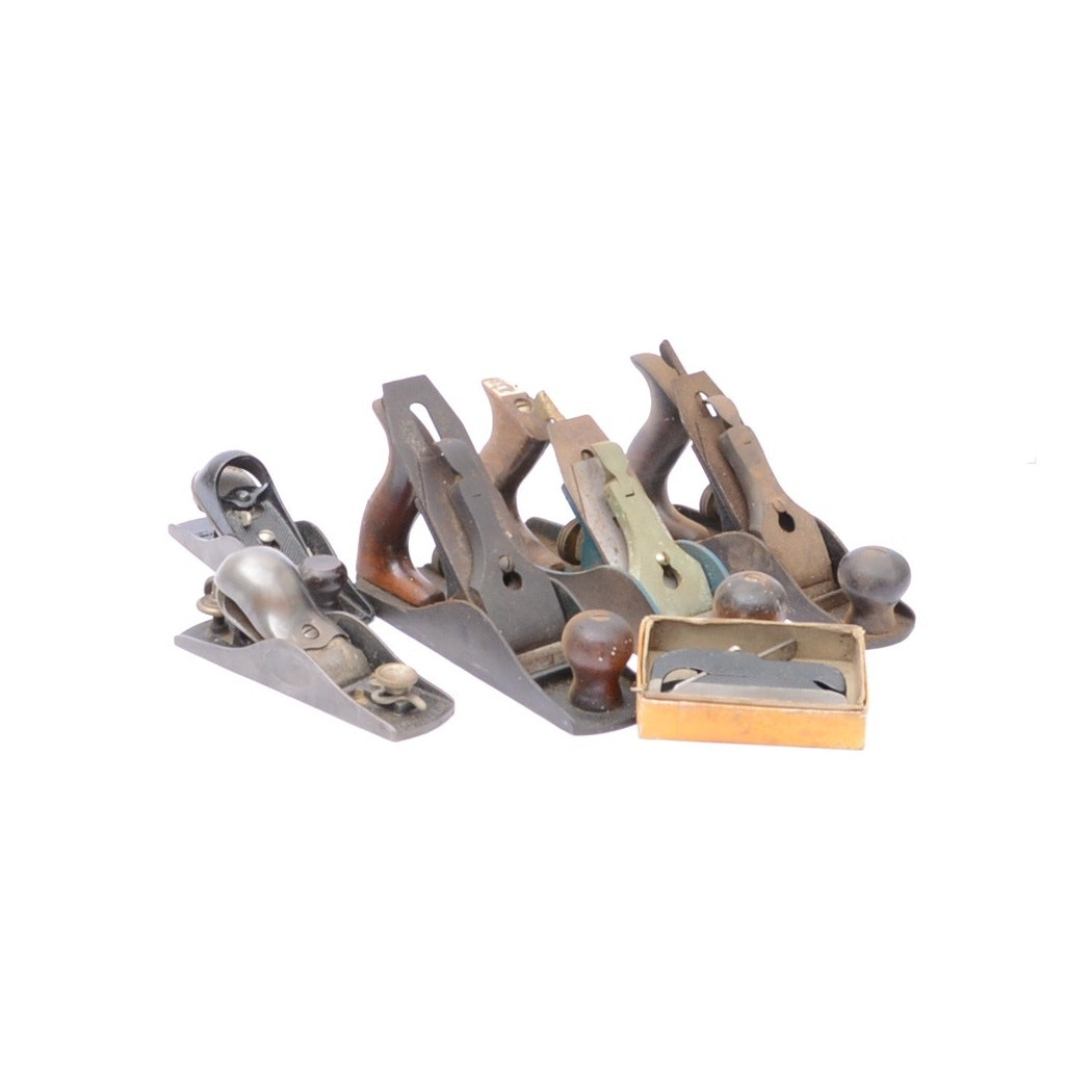 Selection of Six Hand Planers including Stanley