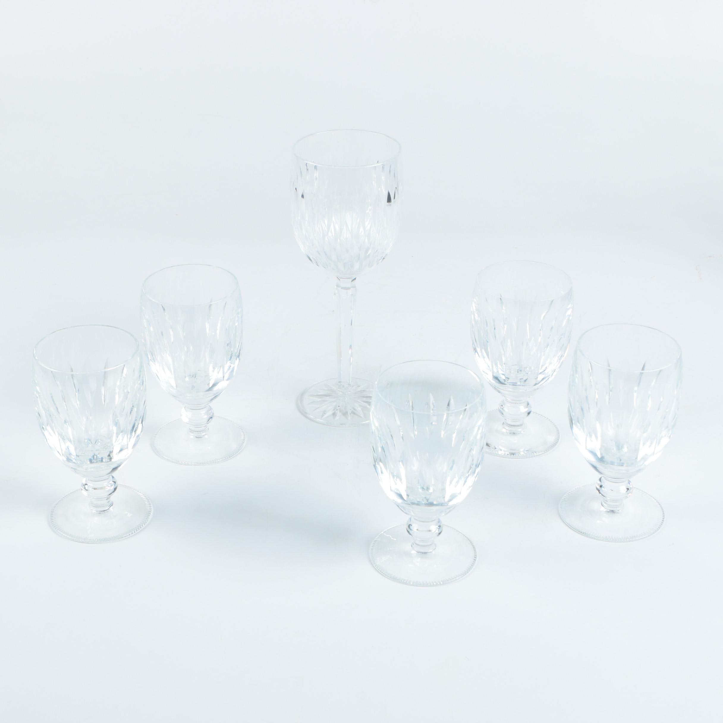 Waterford Crystal Wine Glass and Goblets