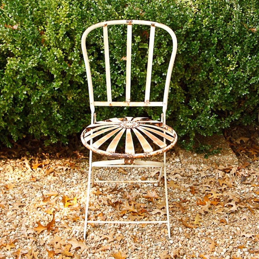 Vintage Garden Chair ... - Vintage Garden Chair : EBTH