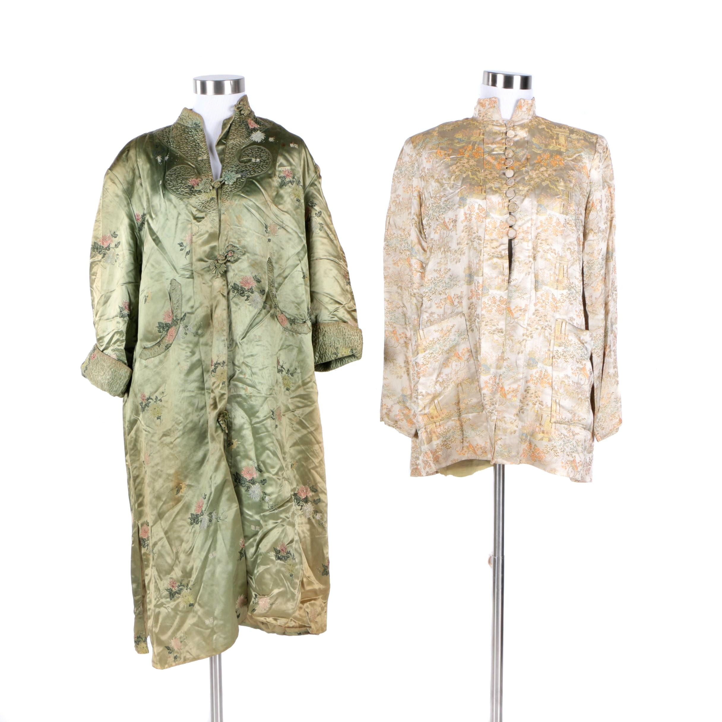 Chinese Brocade Jackets