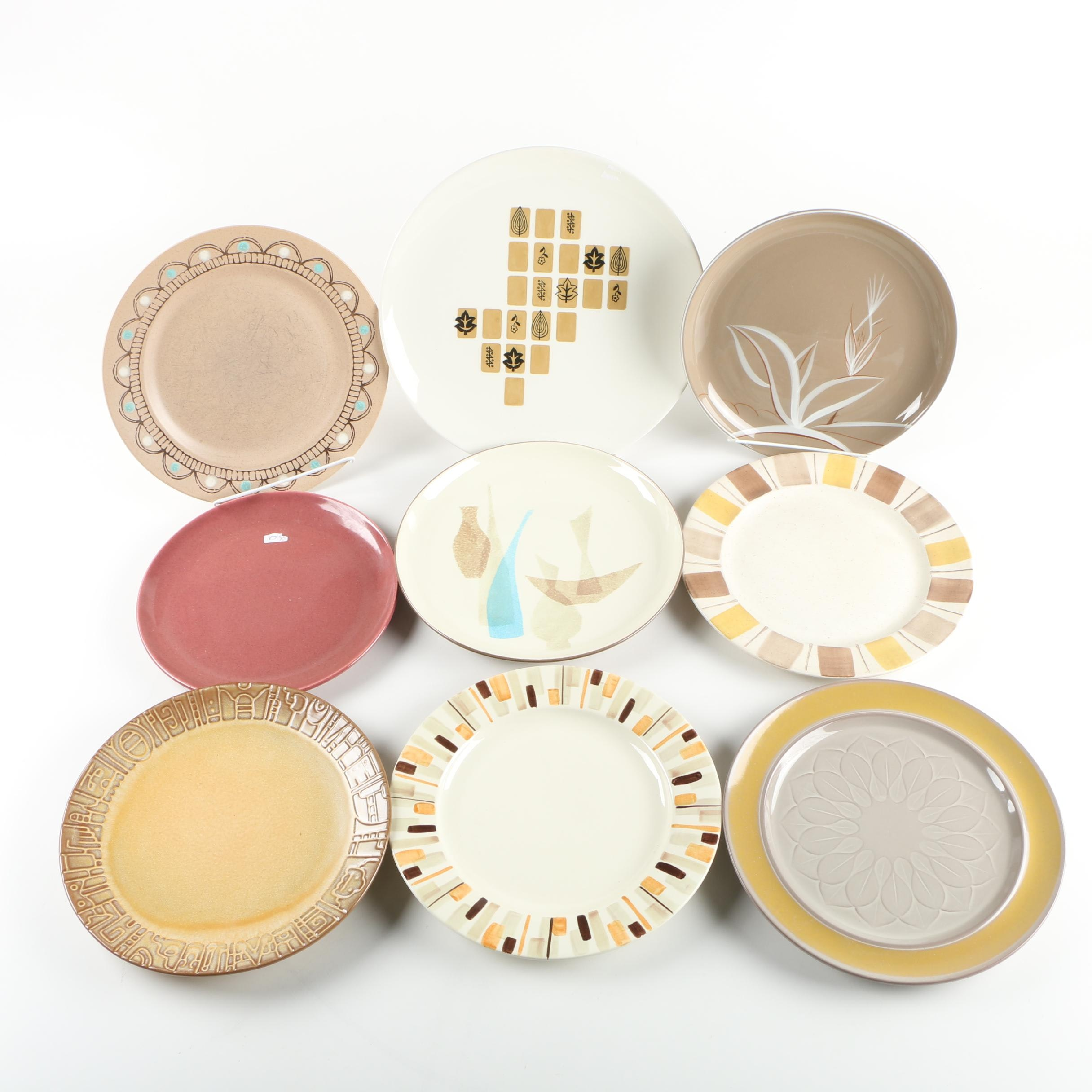 Collection of Ceramic Plates