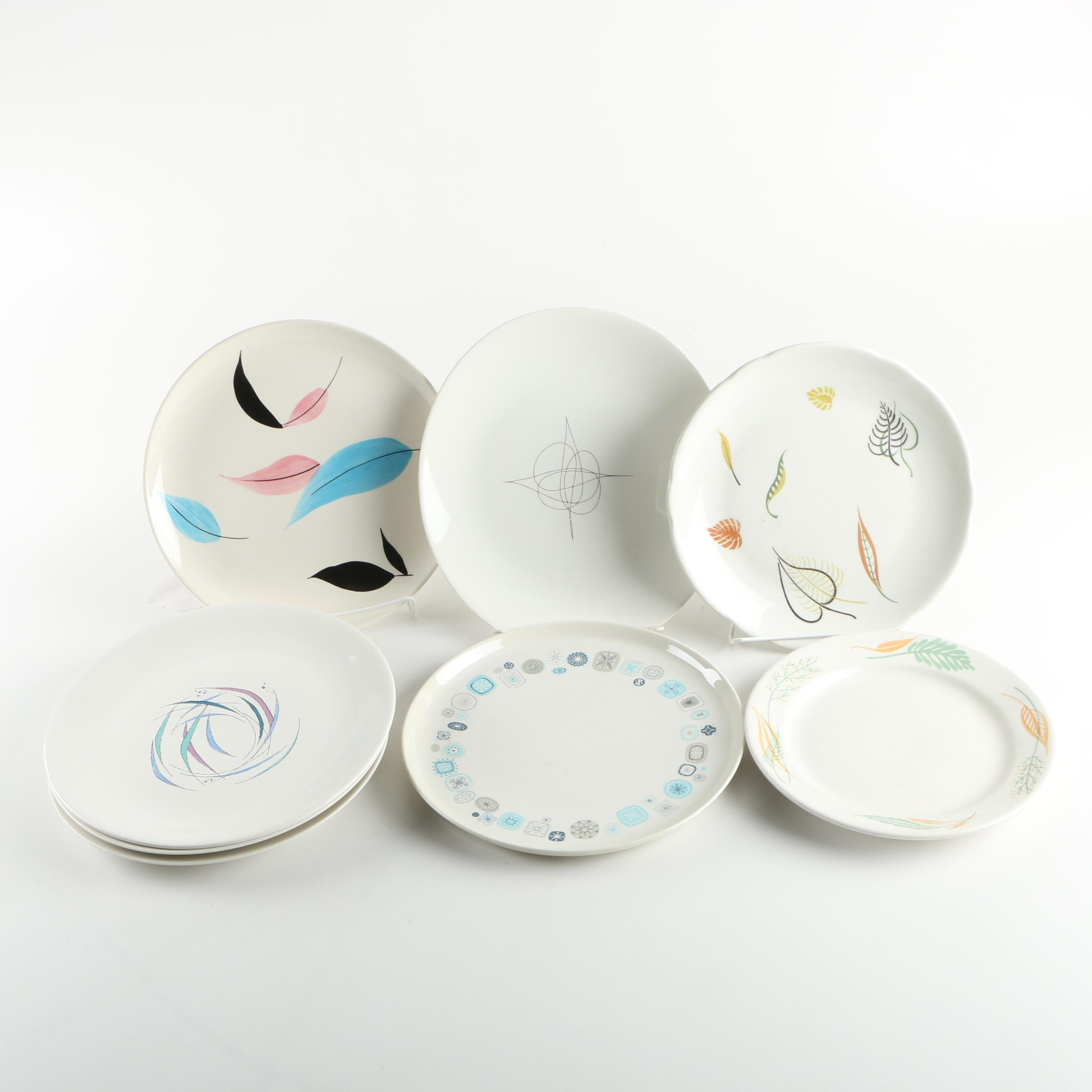 Vintage Ceramic Plates Featuring Franciscan