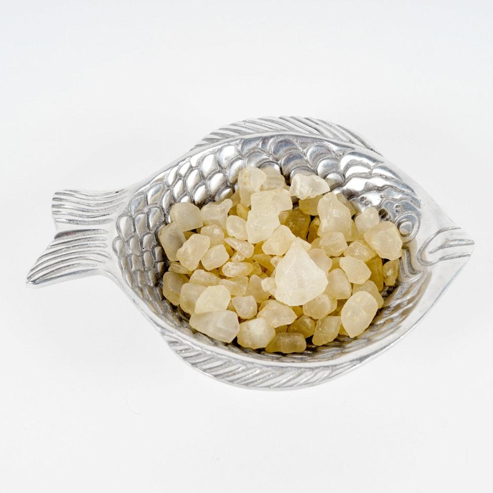Pewter Fish Bowl