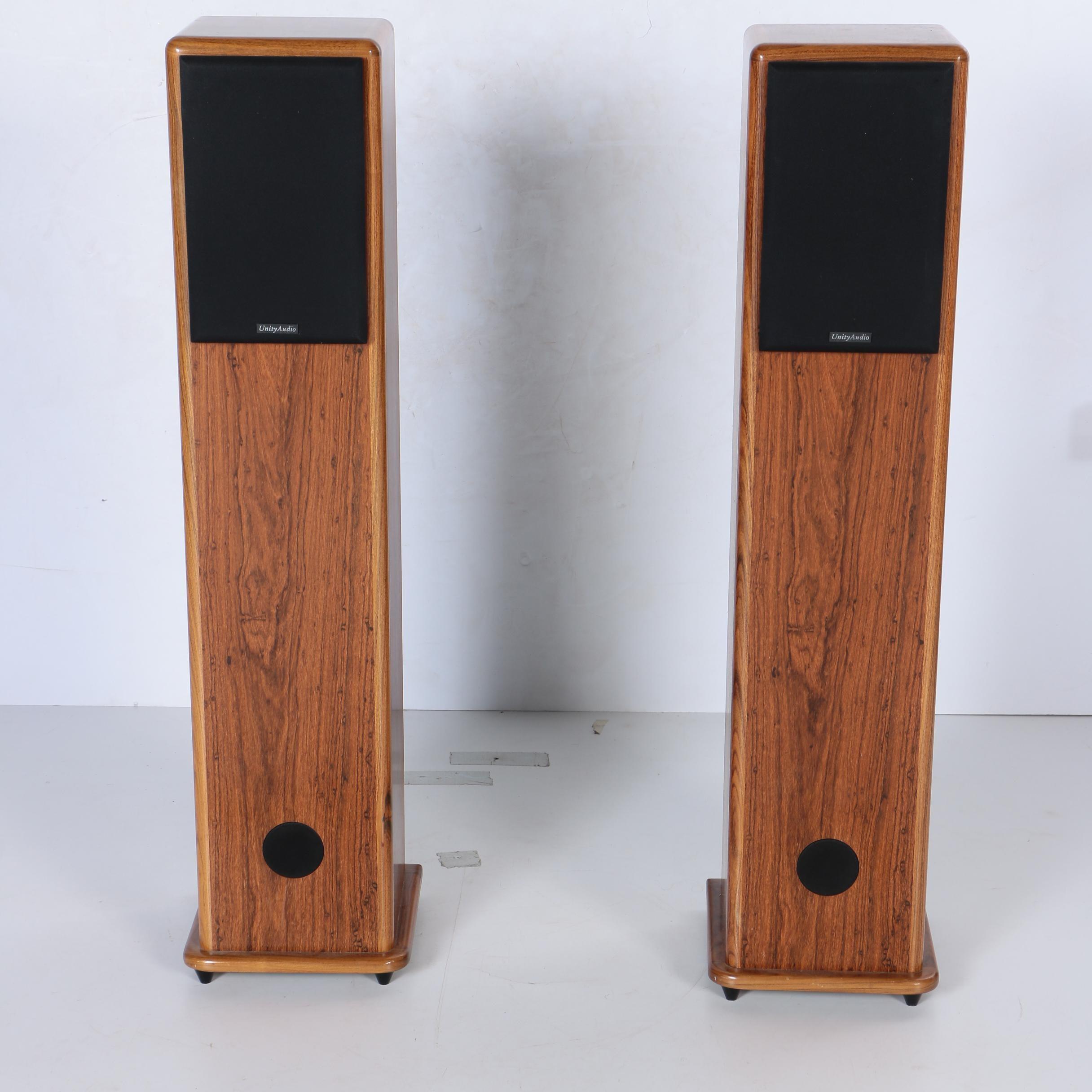 Pair of Unity Audio Speaker