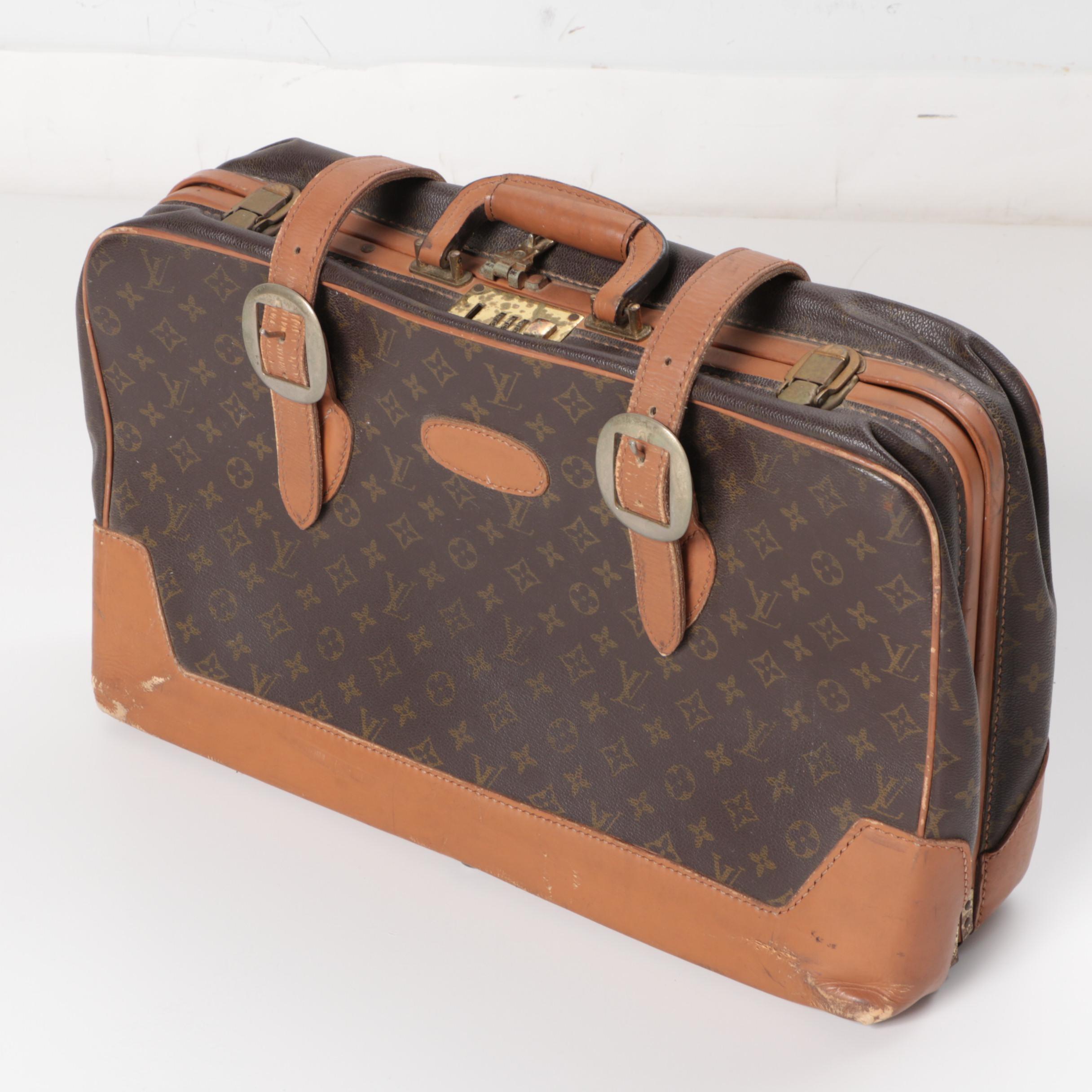 Vintage Louis Vuitton Monogram Overnight Bag