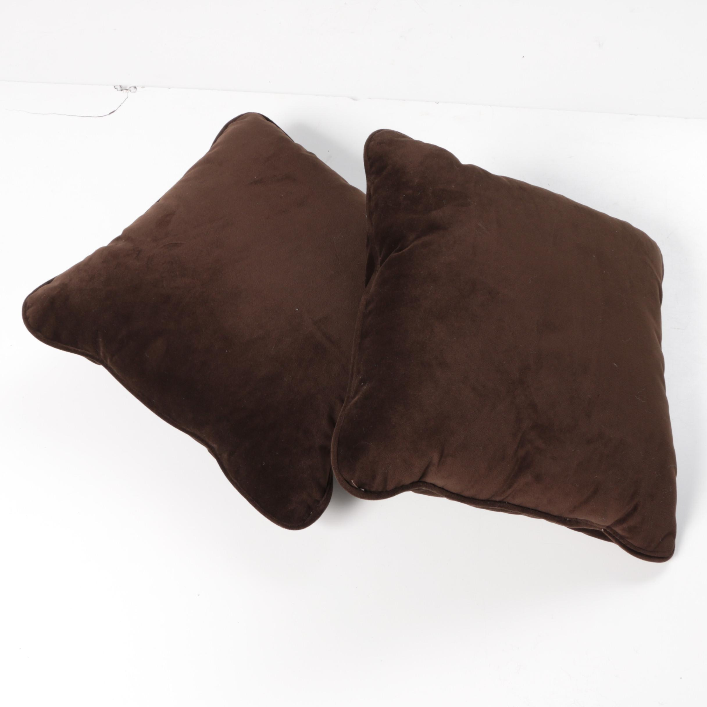 Brown Decorative Throw Pillows