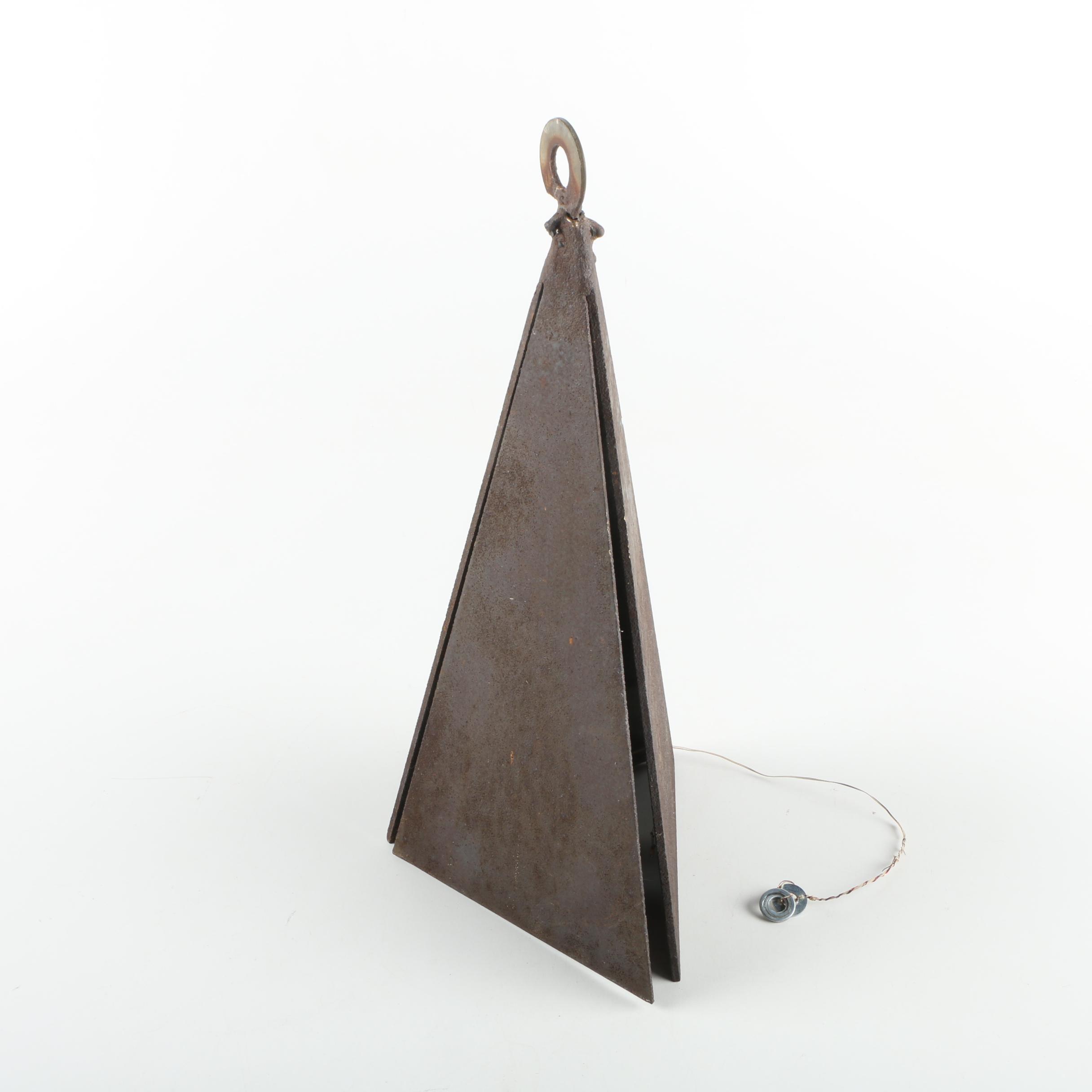 Vintage Folk Art Metal Bell